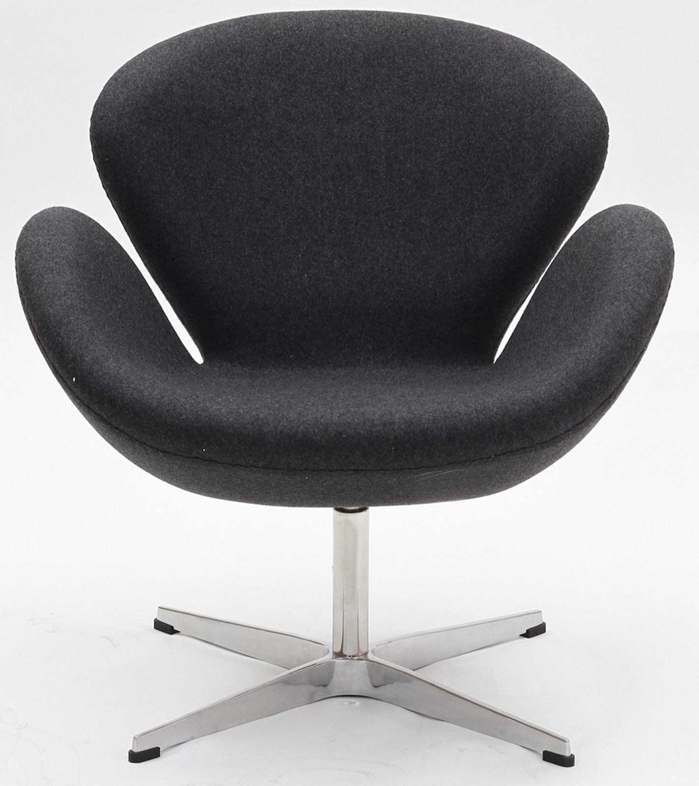 Wing chair in dark gray from renegade eei 137 coleman furniture