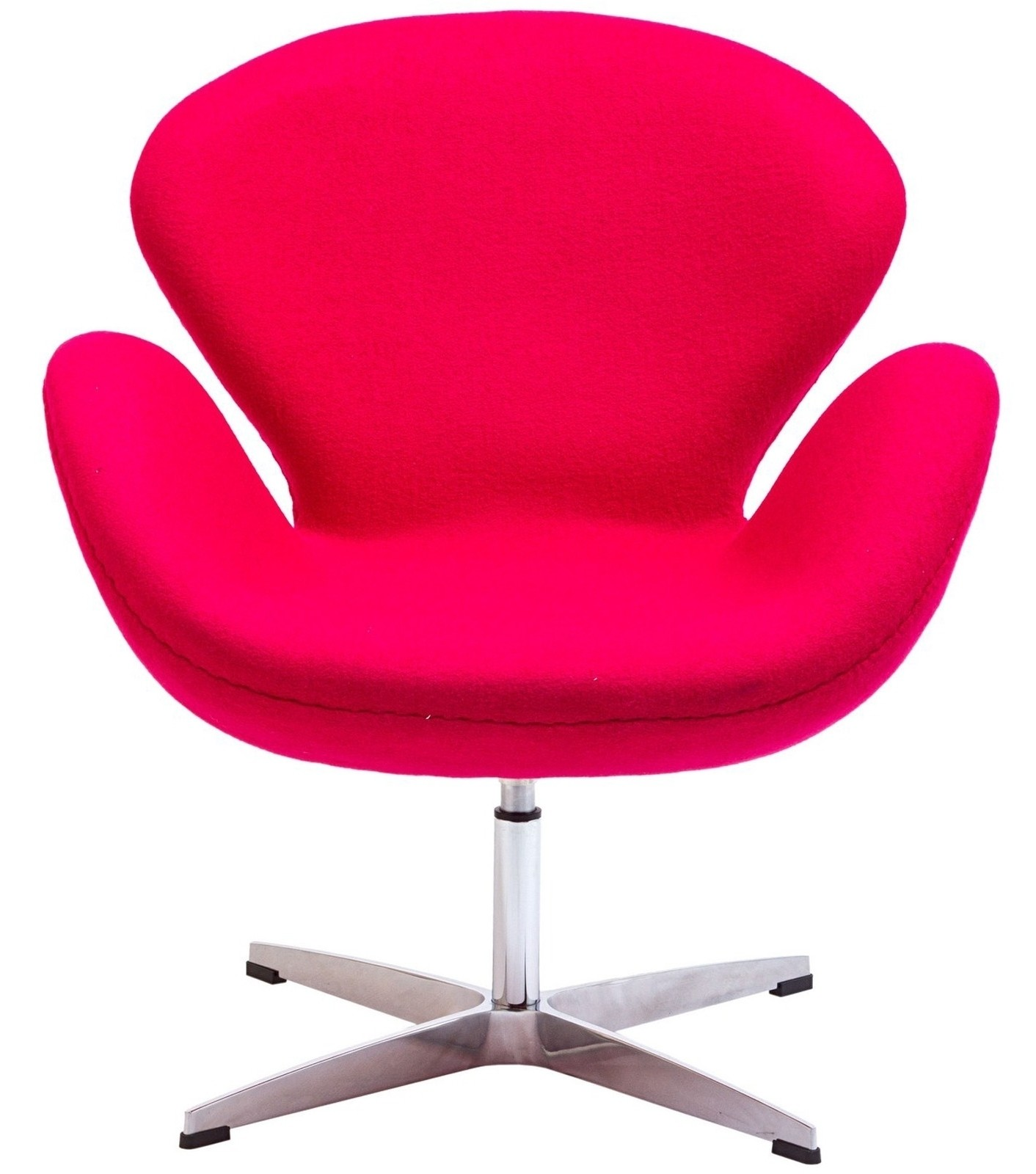 Wing chair in pink eei 137 pnk indoor furniture