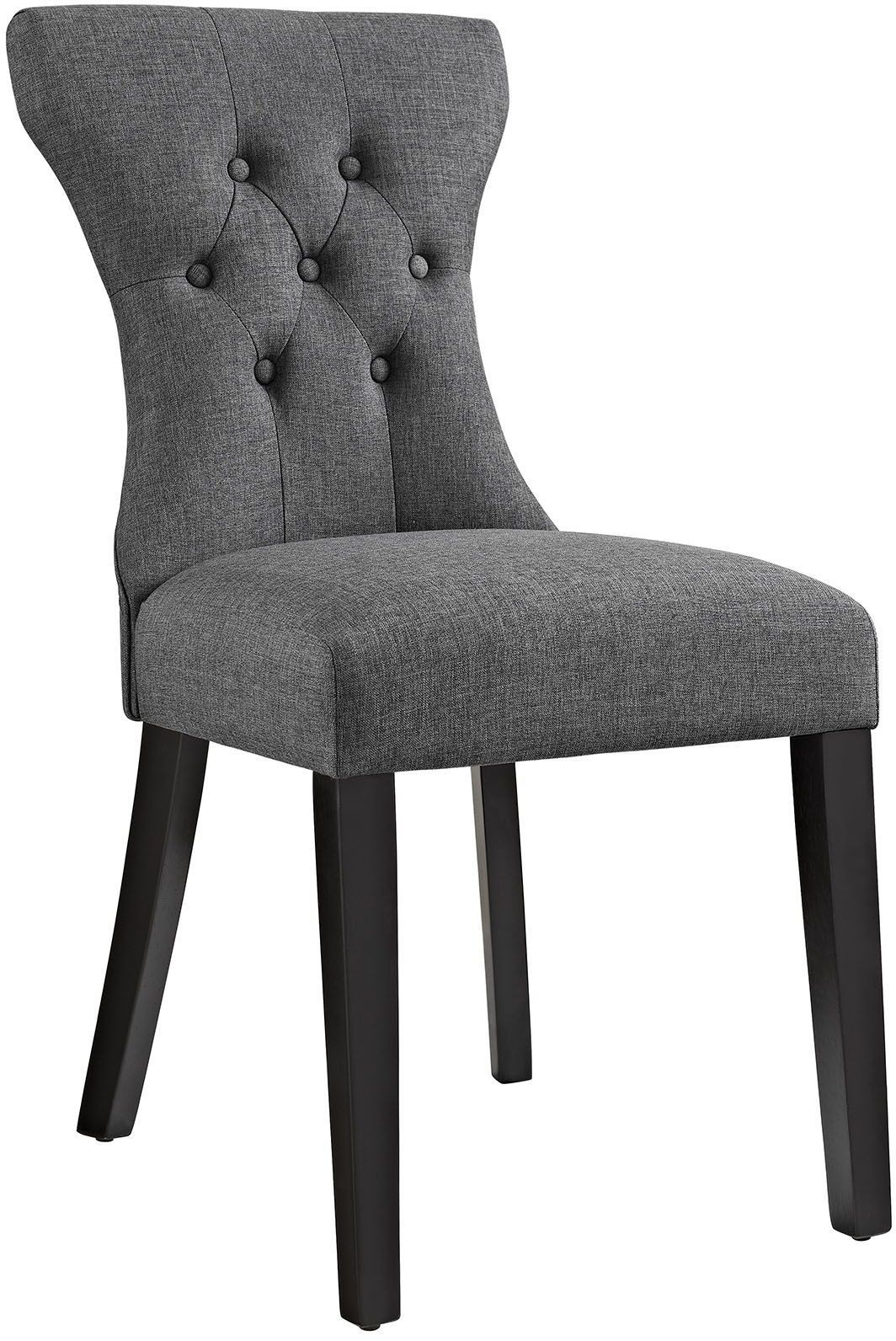 Silhouette Gray Dining Side Chair EEI 1380 GRY Renegade