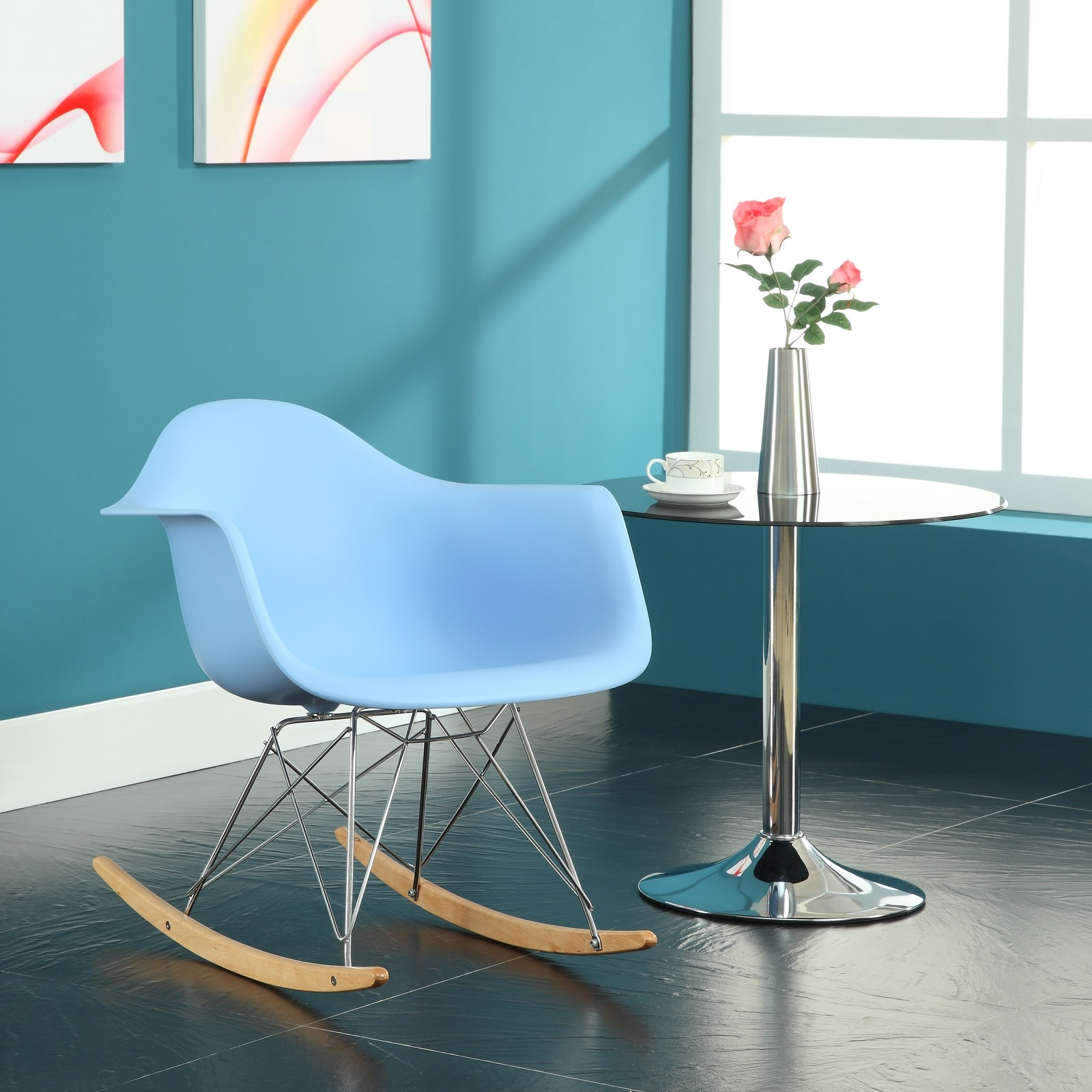 ... Rocking Chair in Blue from Renegade (EEI-147)  Coleman Furniture