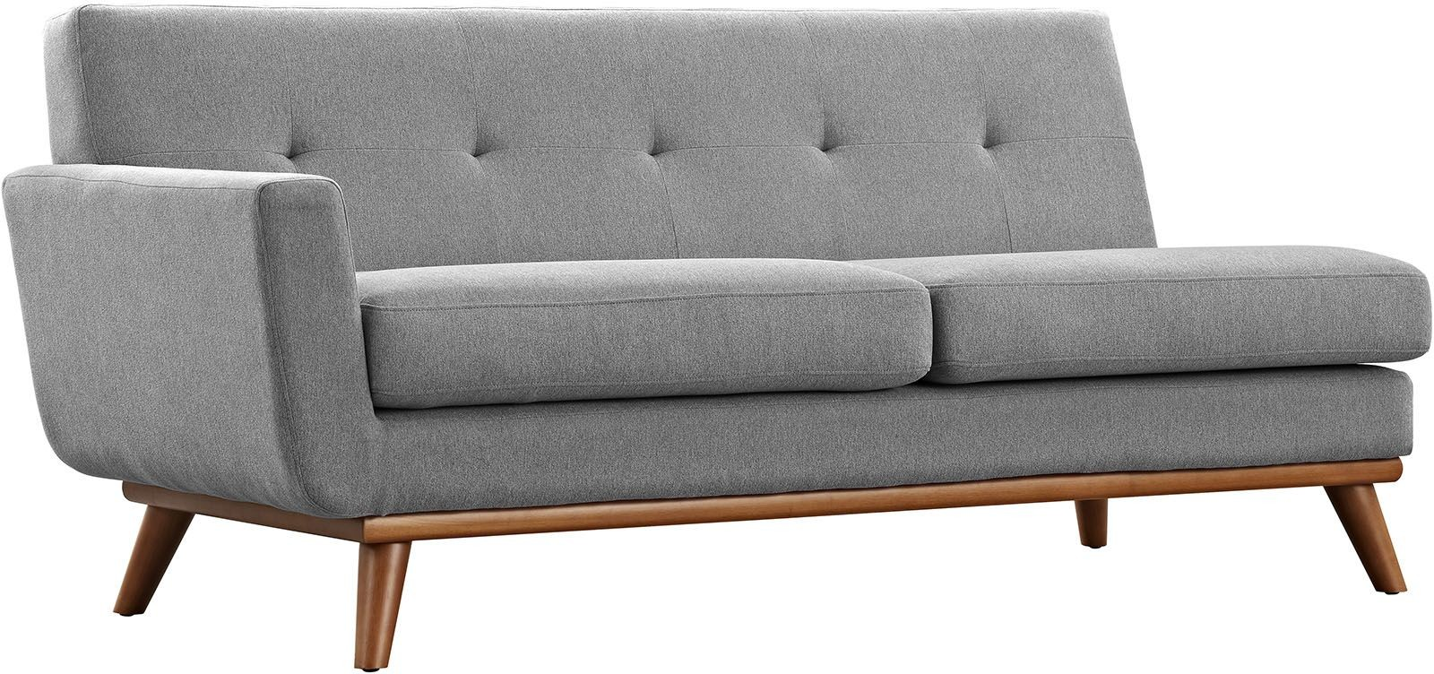 Engage gray 5 piece sectional sofa eei 2186 gry set for 5 piece grey sectional sofa