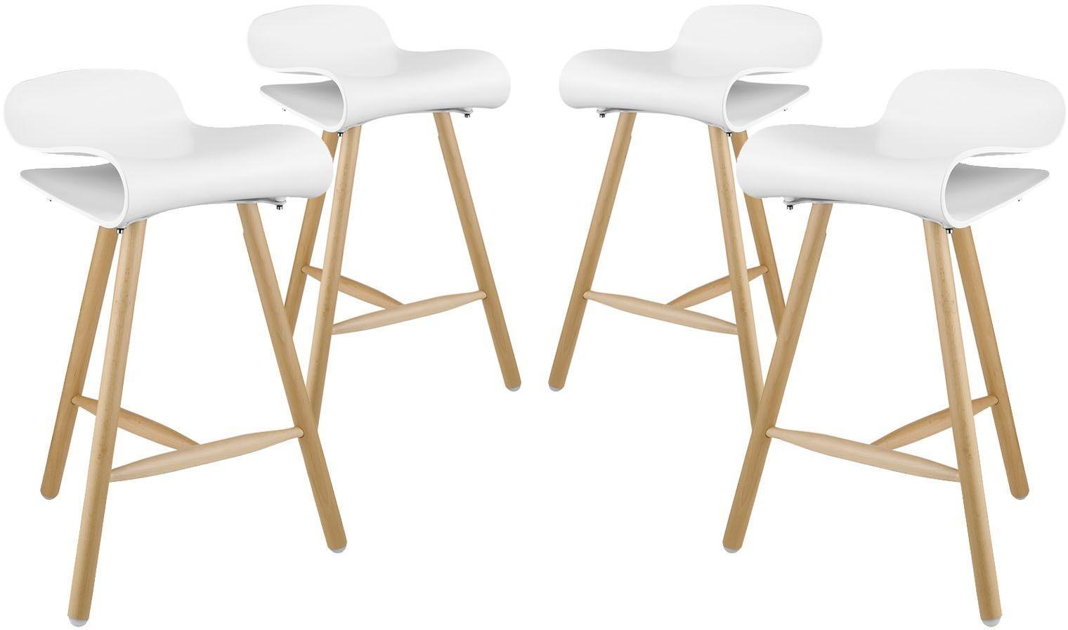 Clip White Bar Stool Set of 4 EEI 2406 WHI SET Renegade  : eei 2406 whi set1eei from colemanfurniture.com size 1520 x 897 jpeg 95kB