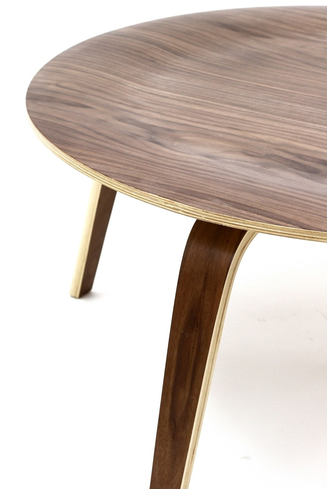 Plywood Coffee Table In Walnut From Renegade Eei 509 Coleman Furniture