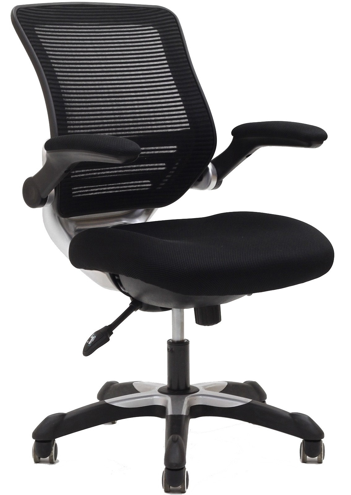 edge office chair with black mesh fabric seat from renegade eei 594