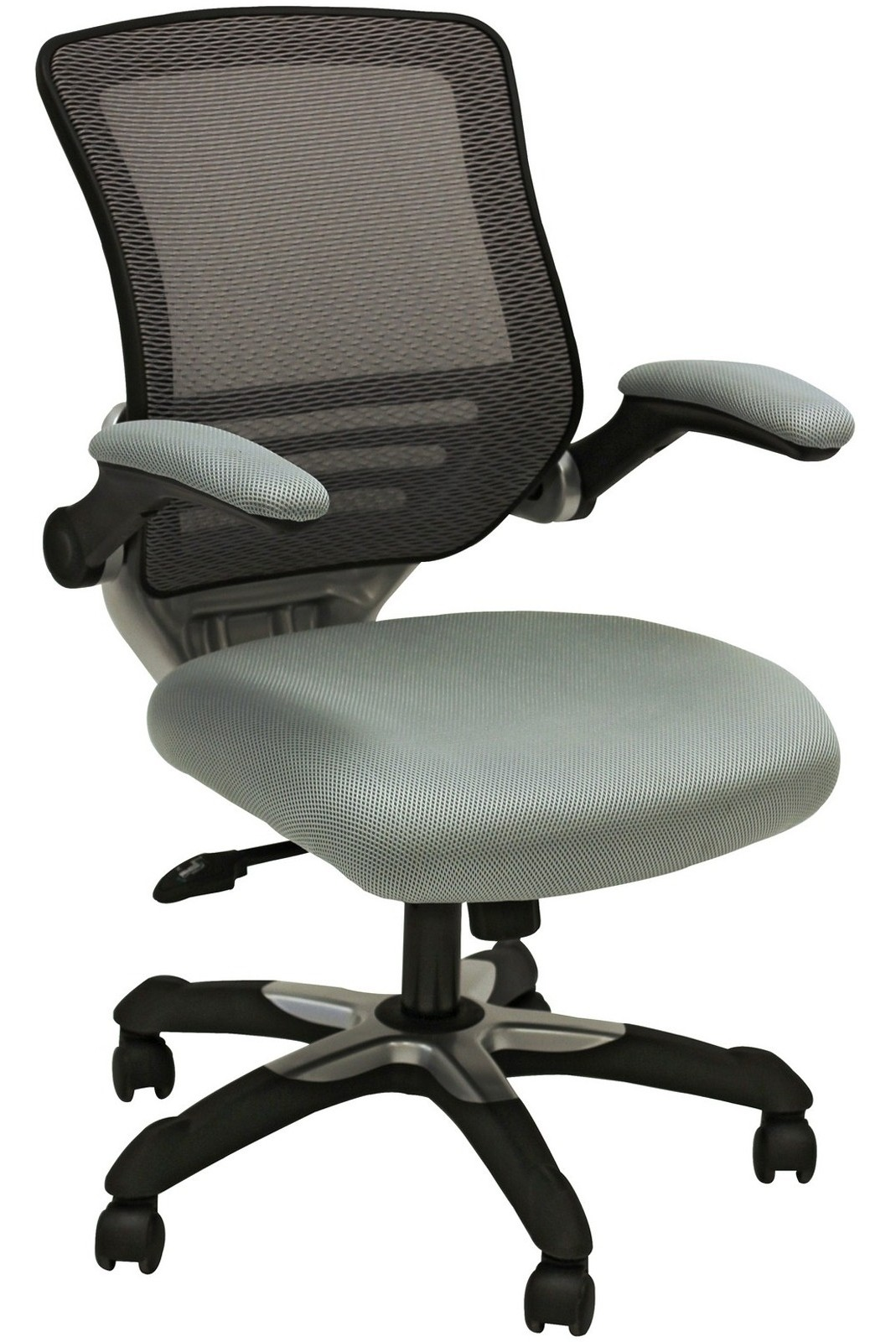 Edge Office Chair With Gray Mesh Fabric Seat From Renegade EEI 594 Colema