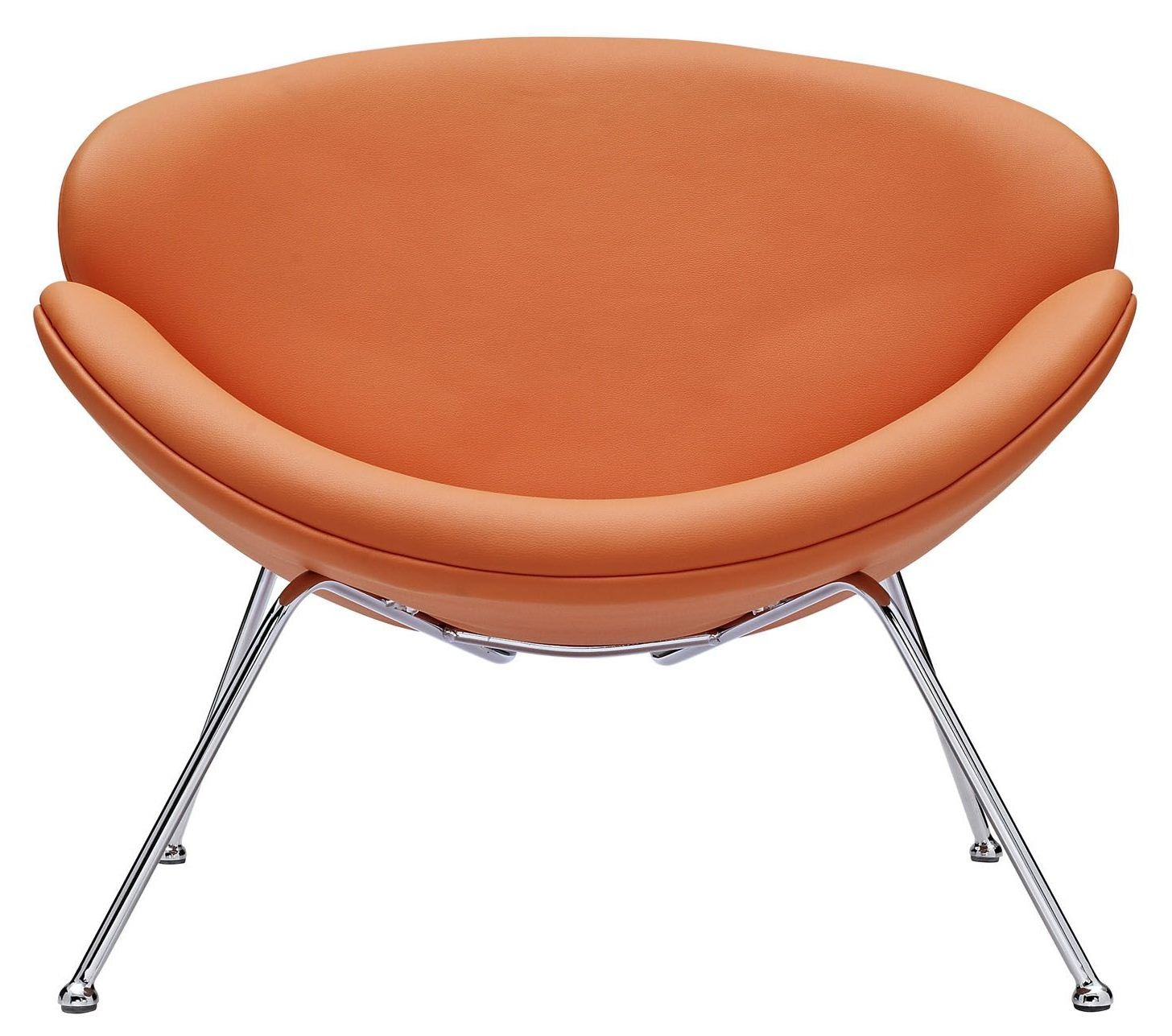 Nutshell Orange Lounge Chair from Renegade EEI 809