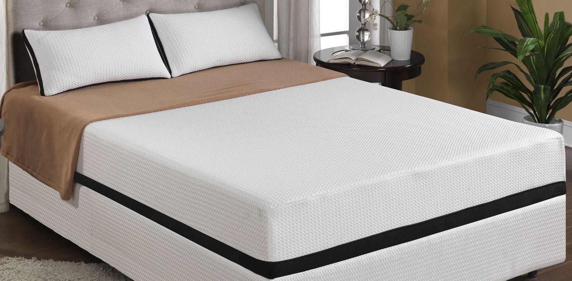 beds cool jewel moonlight queen 10 gel memory foam mattress