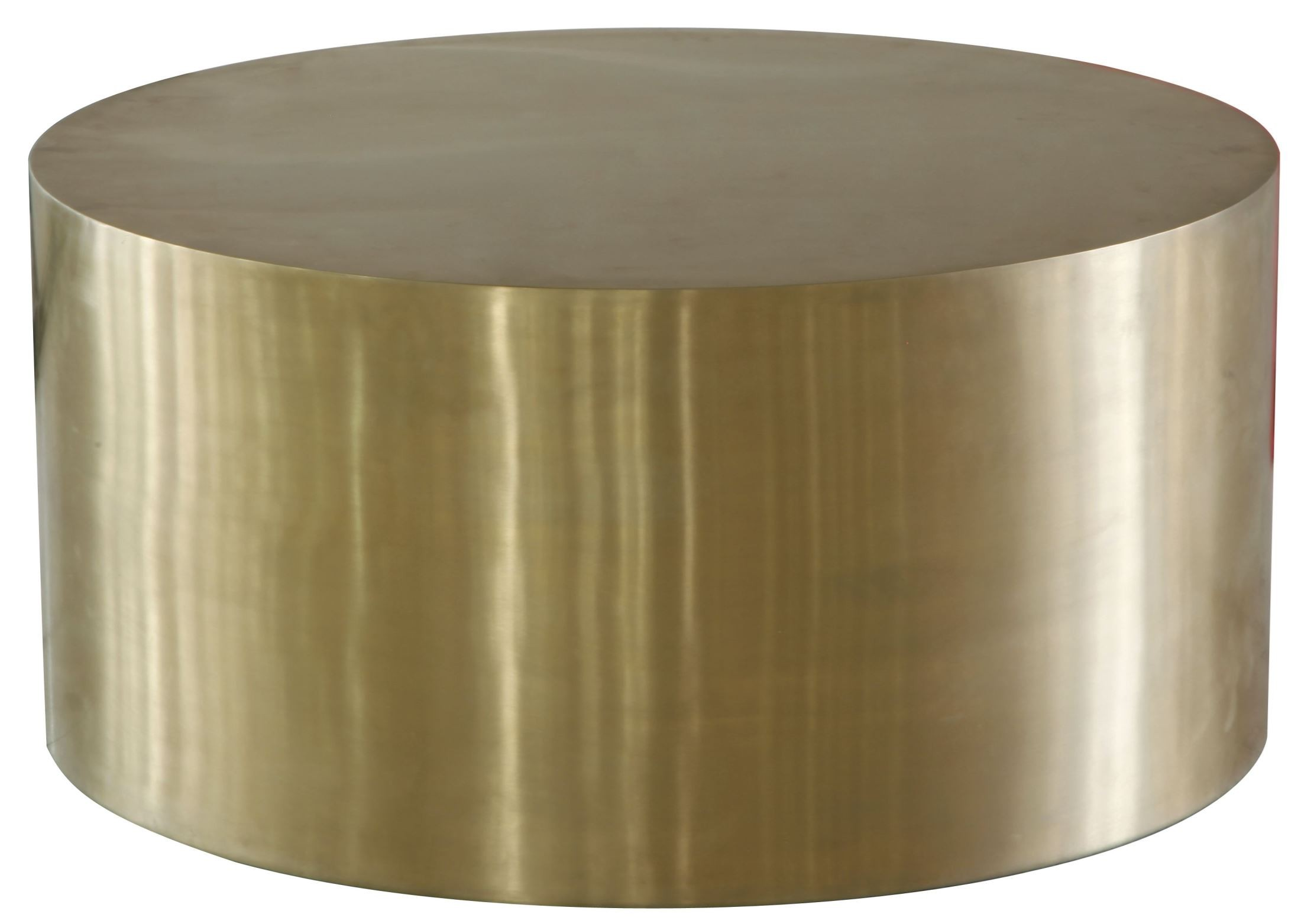 Cordova Bronze Bronze Metal Drum Coffee Table Wh F1553 9997 Lazzaro