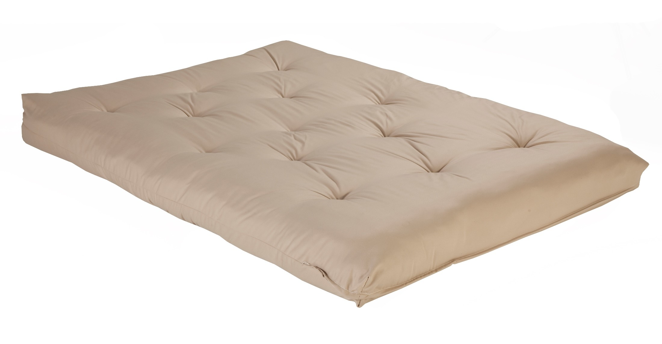 Khaki full size futon mattress from fashion bed group for Full bed with mattress included