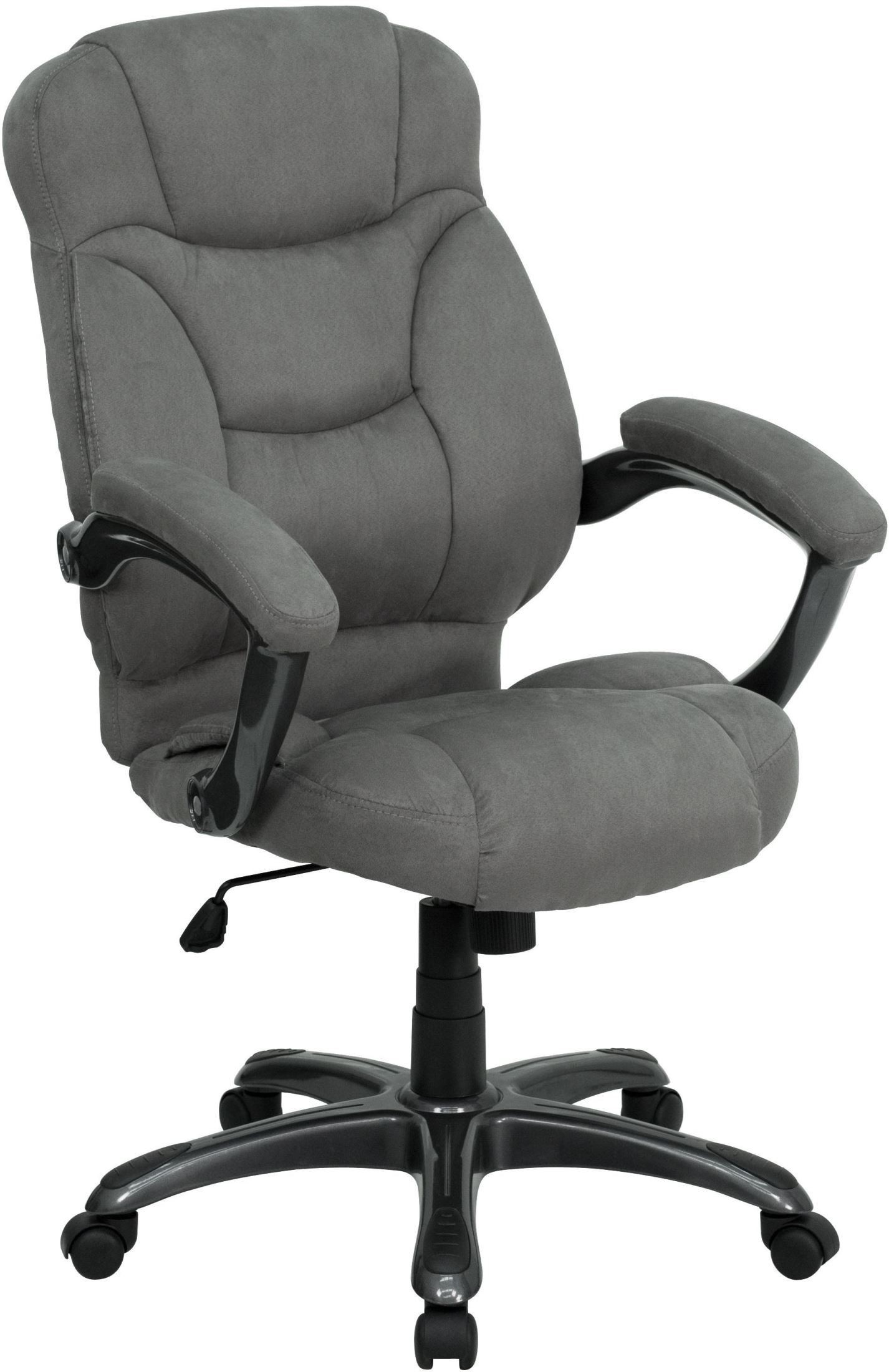 home high back gray upholstered contemporary office chair min order