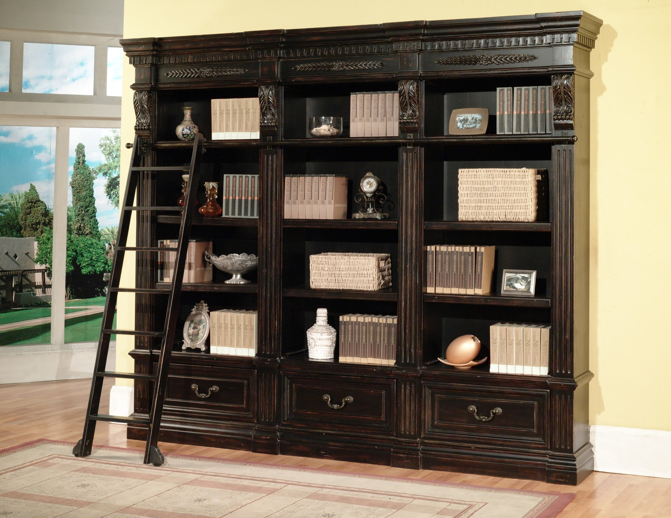 Grand Manor Palazzo 3pc Museum Bookcase from Renegade