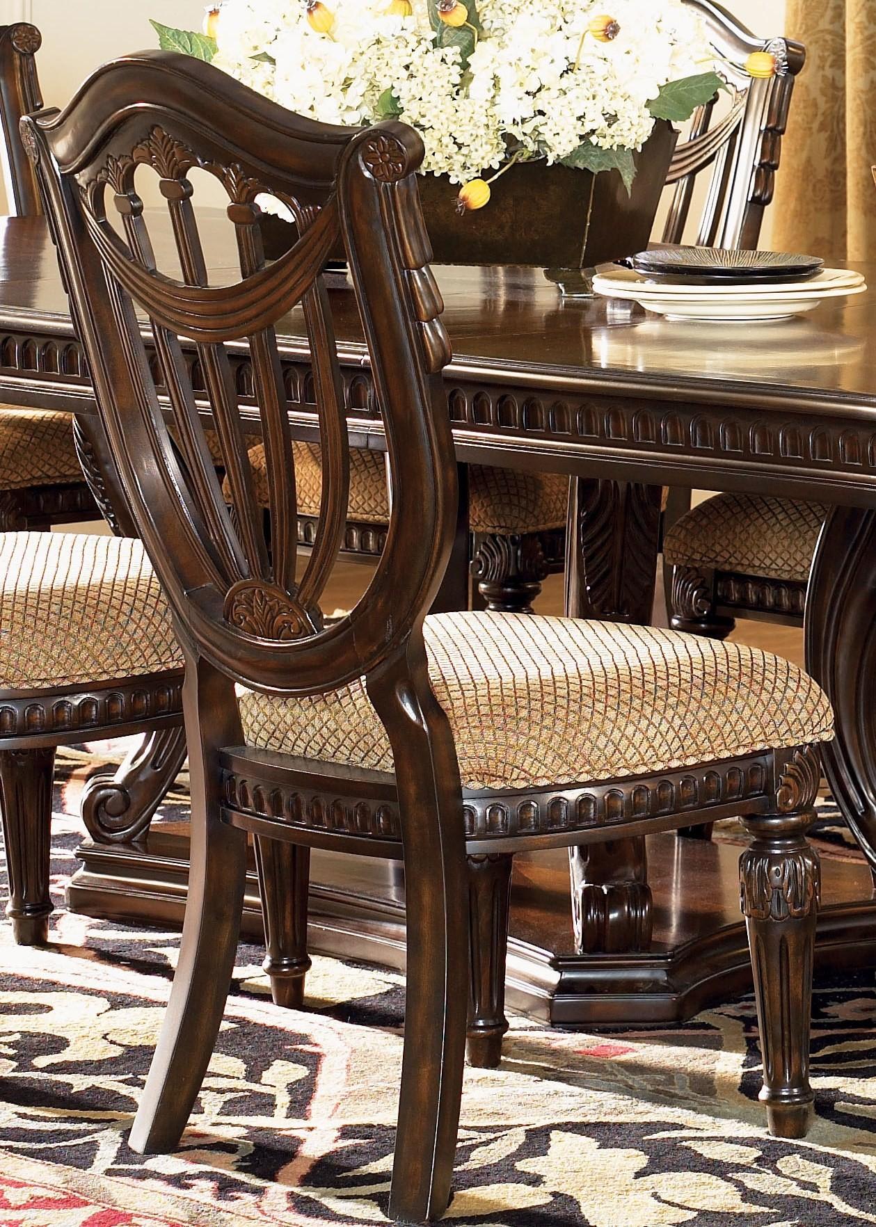 Grand Estates Cinnamon Side Chair From Fairmont Designs 402 01 Coleman Furniture