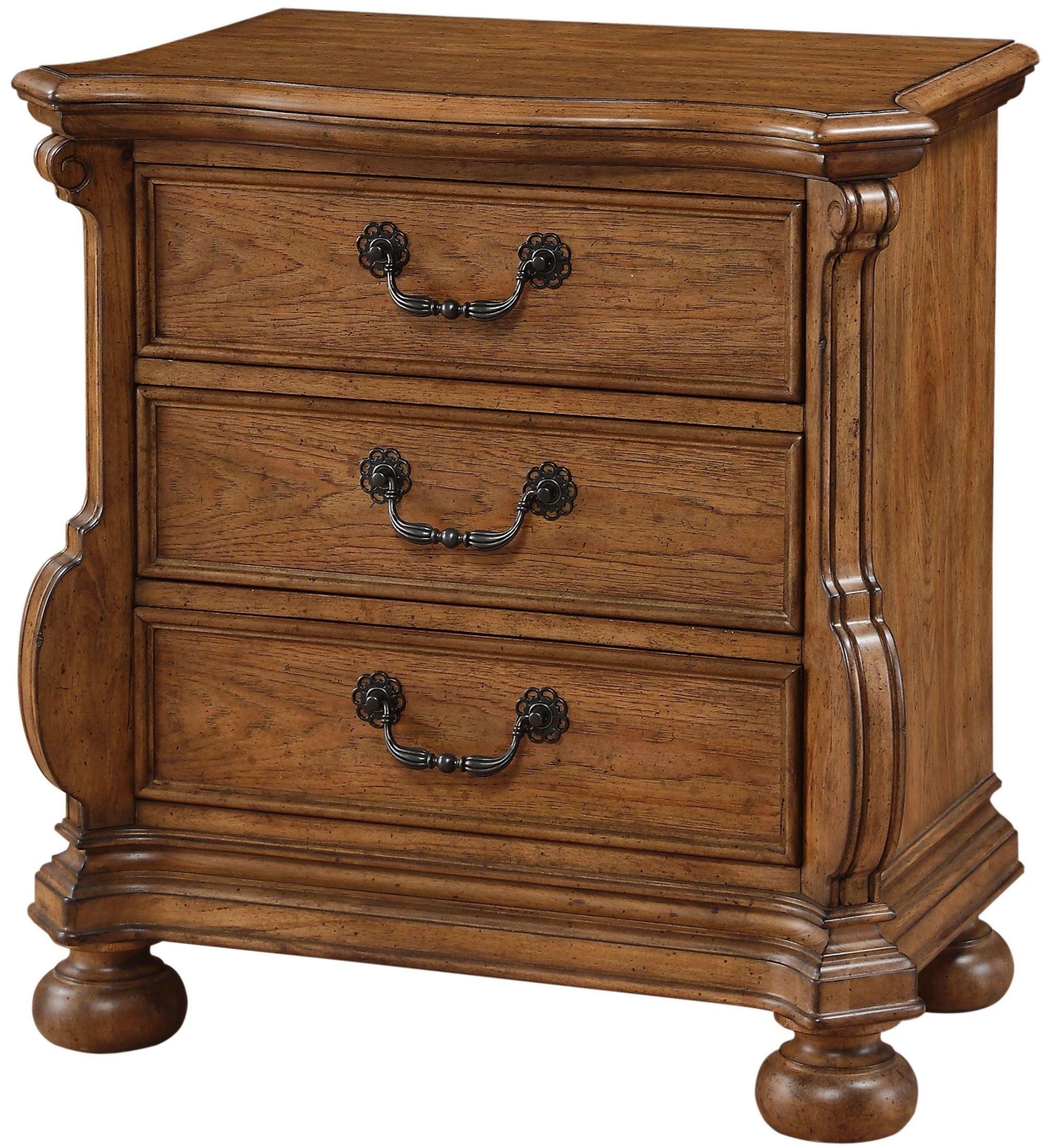 Belle Meade Sunkissed Pecan Panel Bedroom Set 8900 950 952 880 American Woodcrafters