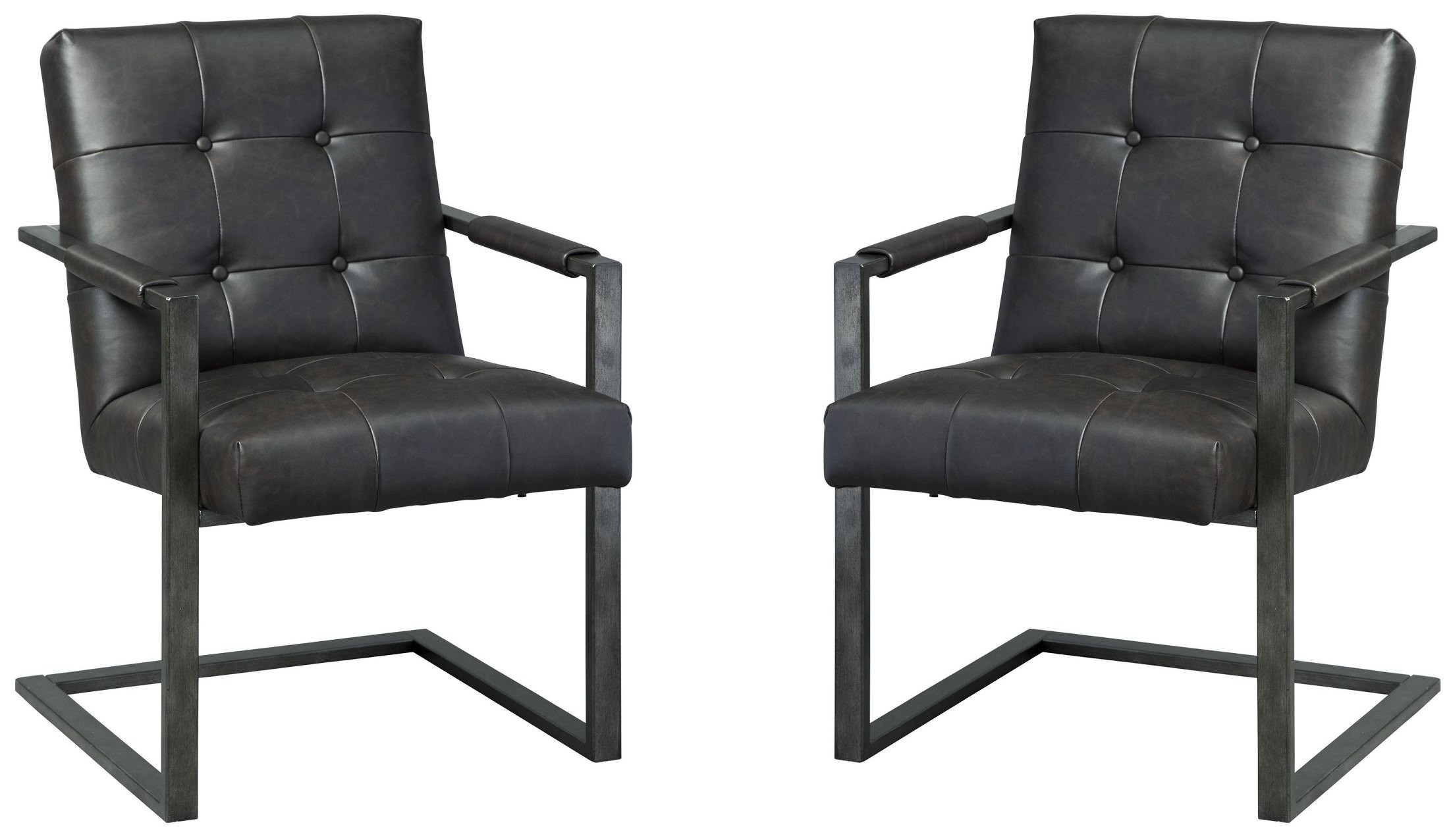 Starmore Brown Home Office Desk Chair Set Of 2 H633 02a