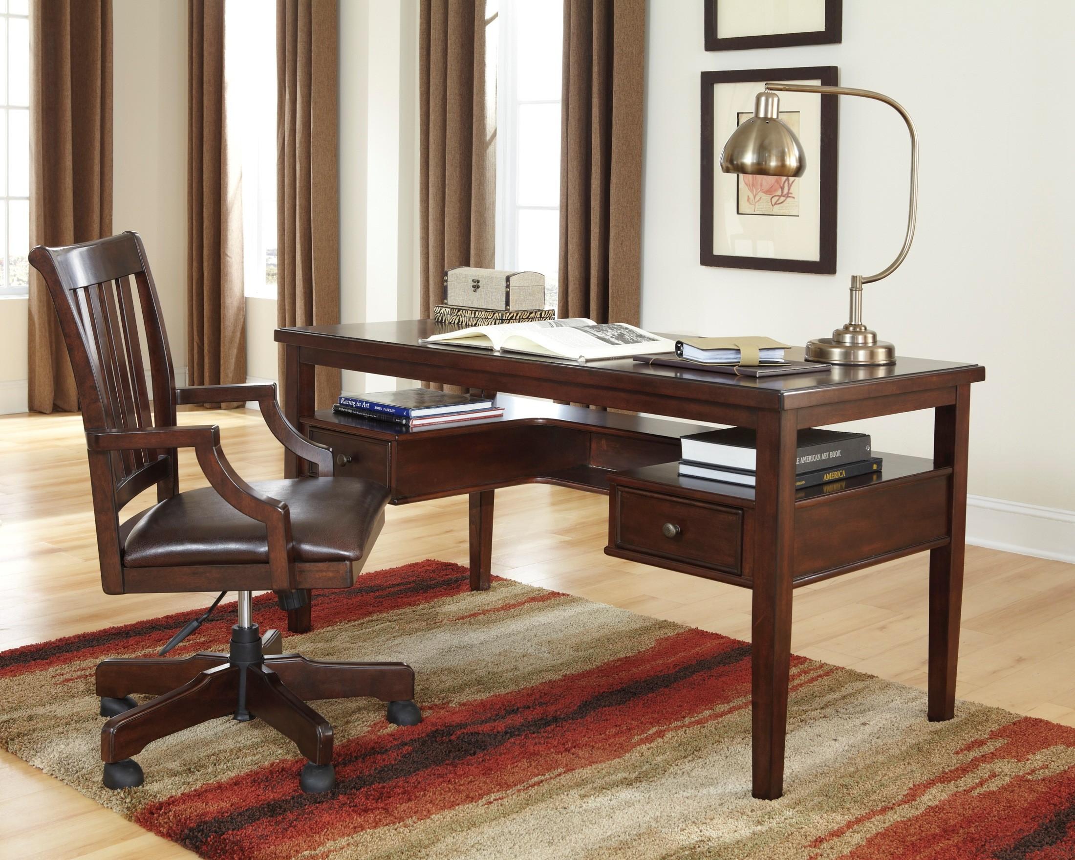 Hindell Park Home Office Desk H695 27 Ashley Furniture