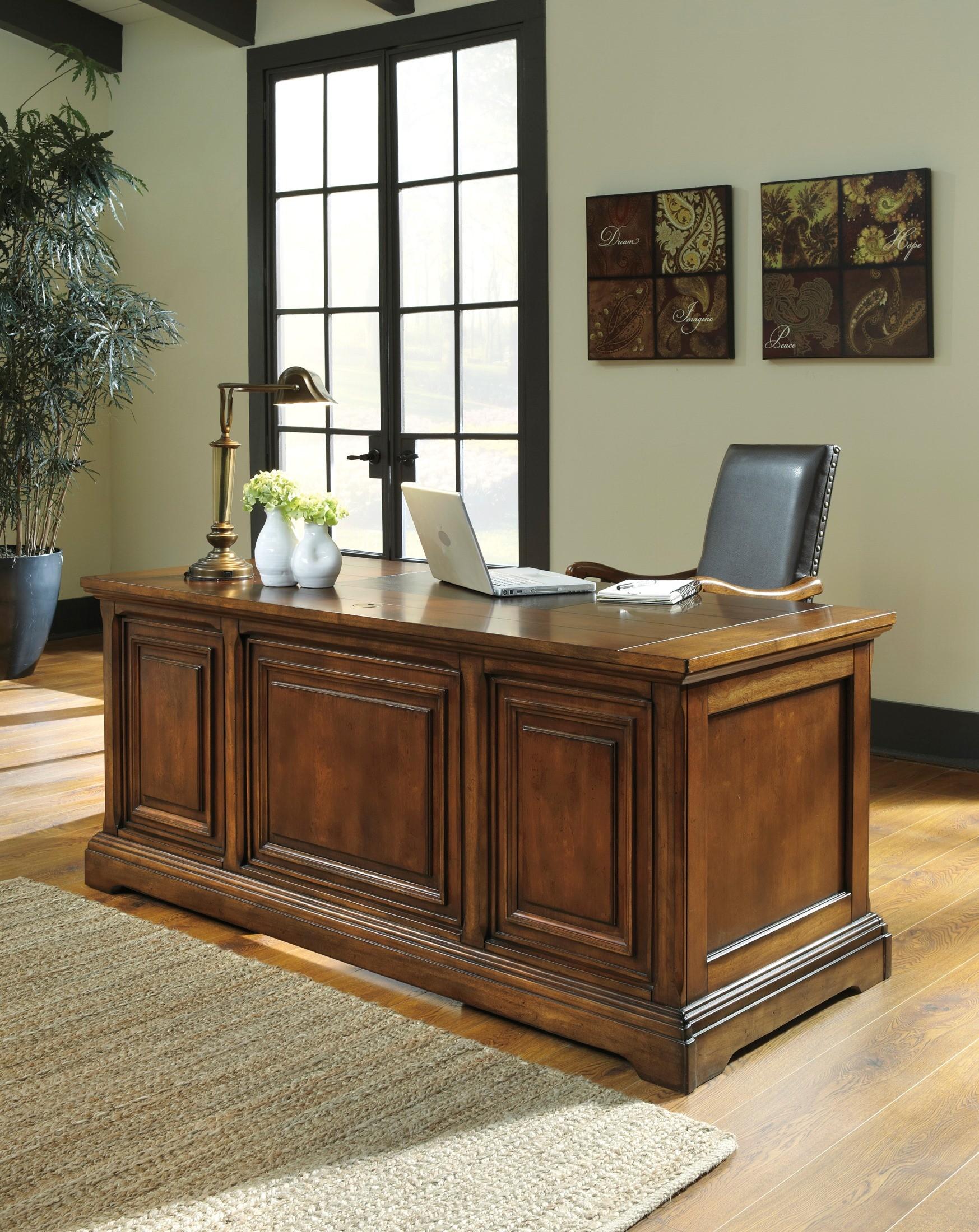 gaylon home office desk h704 27 ashley furniture
