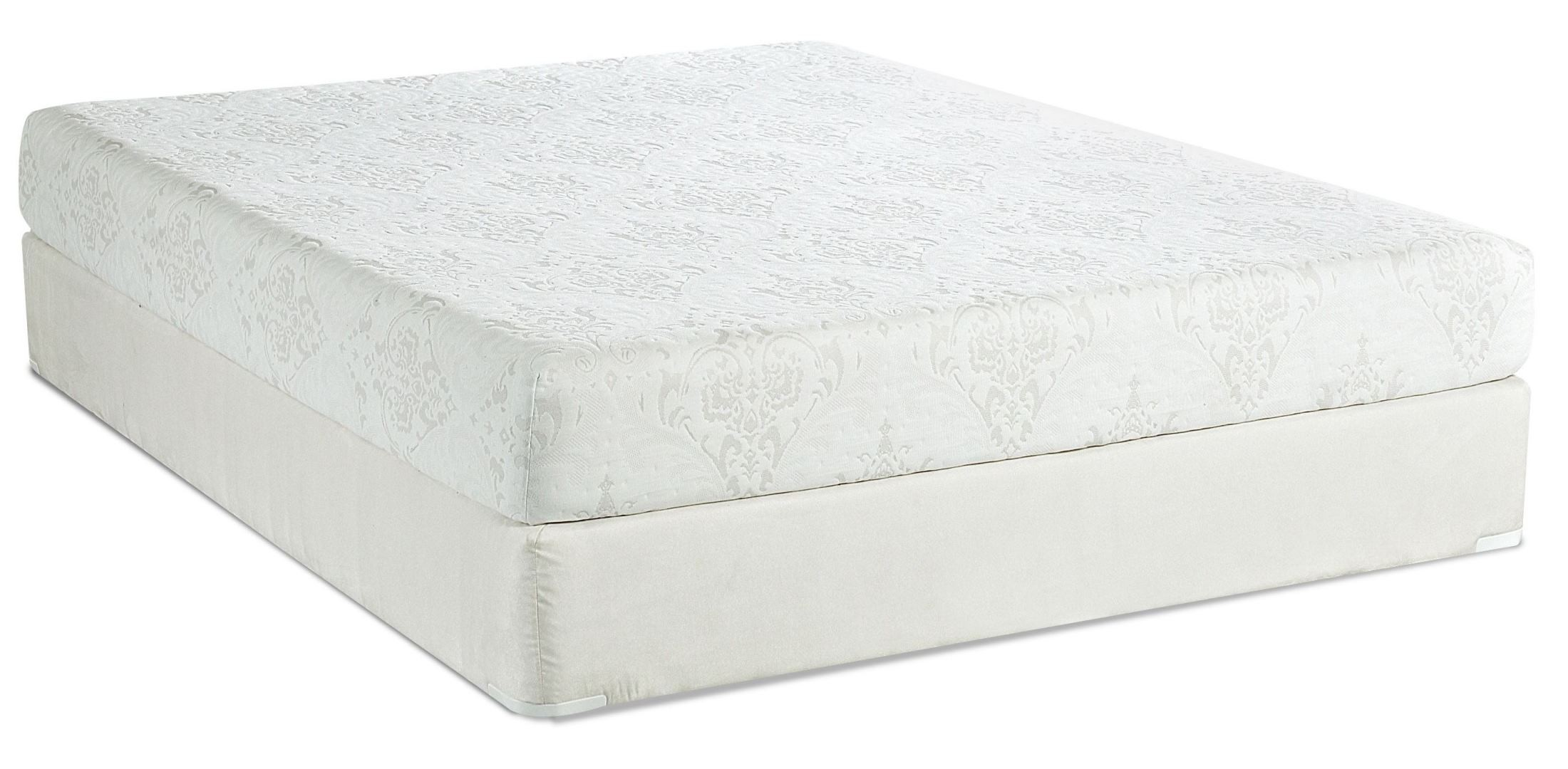 Hampton 8 memory foam twin mattress from klaussner hamptonttmat coleman furniture Double mattress memory foam