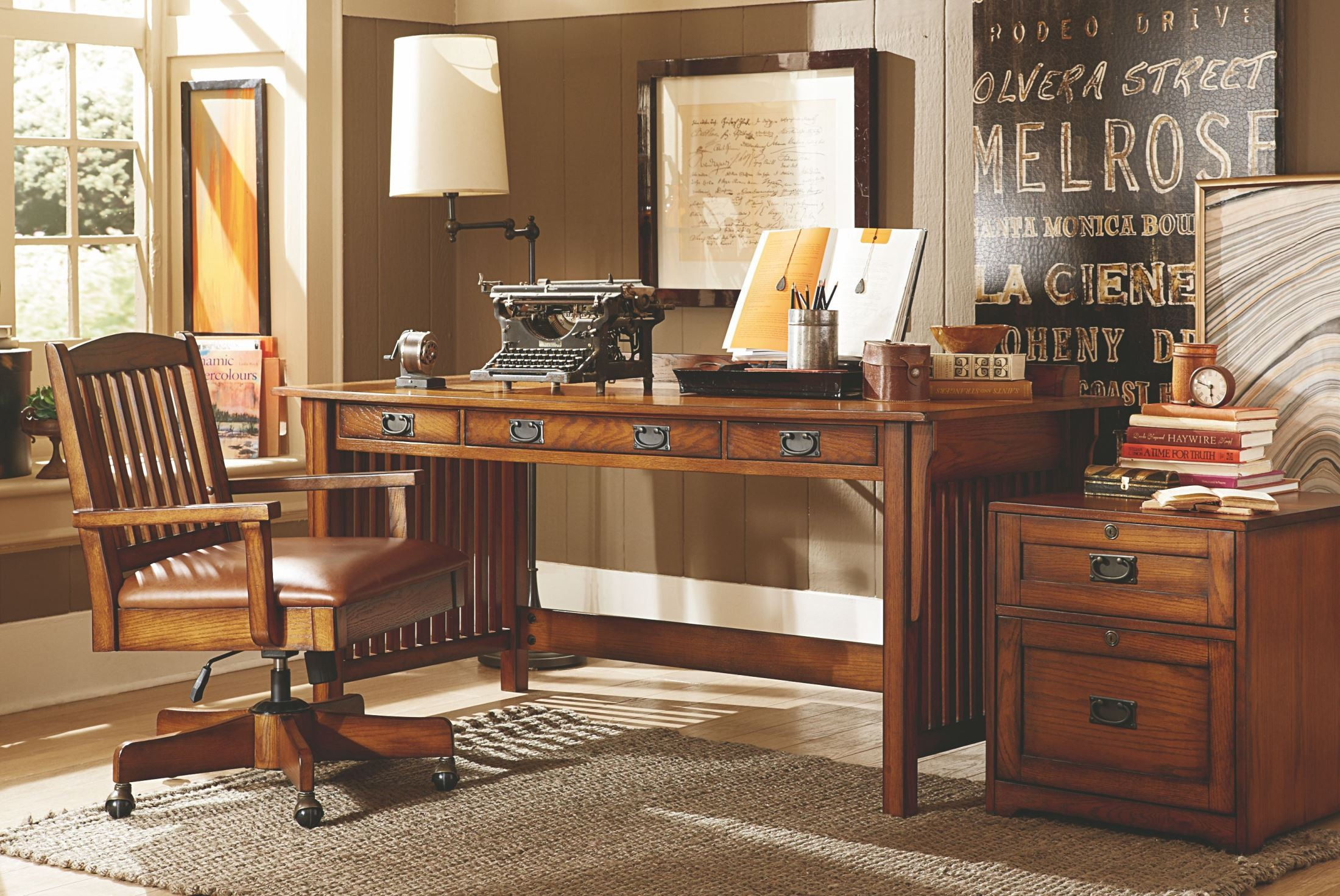 Sedona Home Office Set From Hammary T20011 T2001185 00 Coleman Furniture
