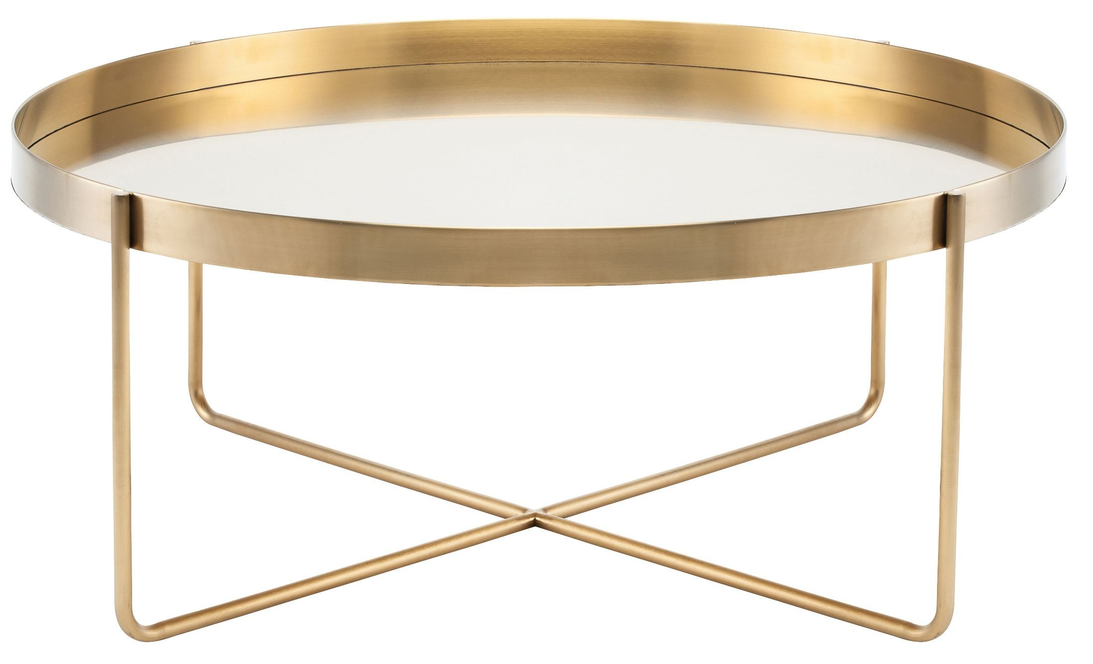 Gaultier 40 gold metal coffee table hgde122 nuevo Gold metal coffee table