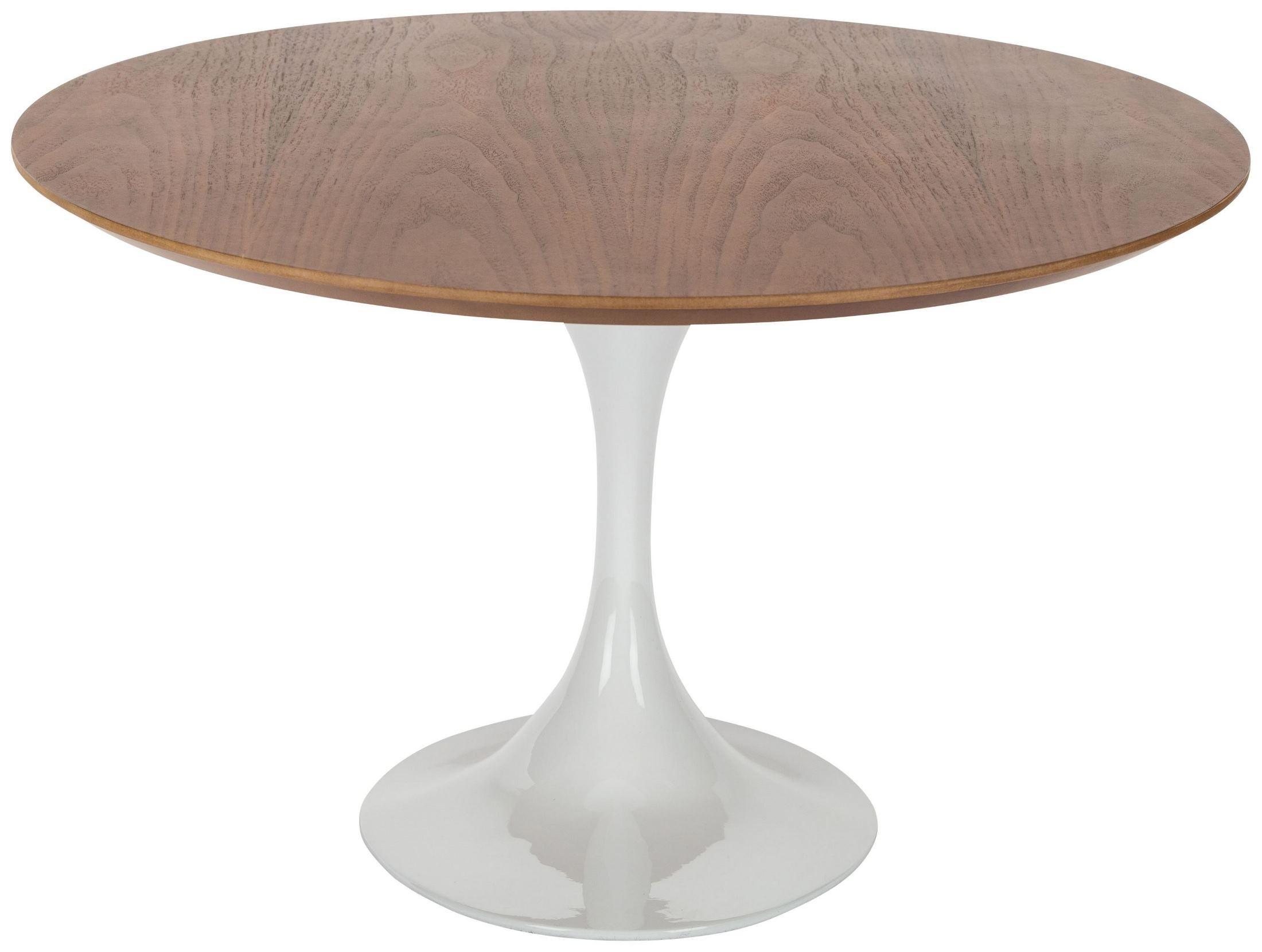 Ova American Walnut Wood Coffee Table Hgem737 Nuevo