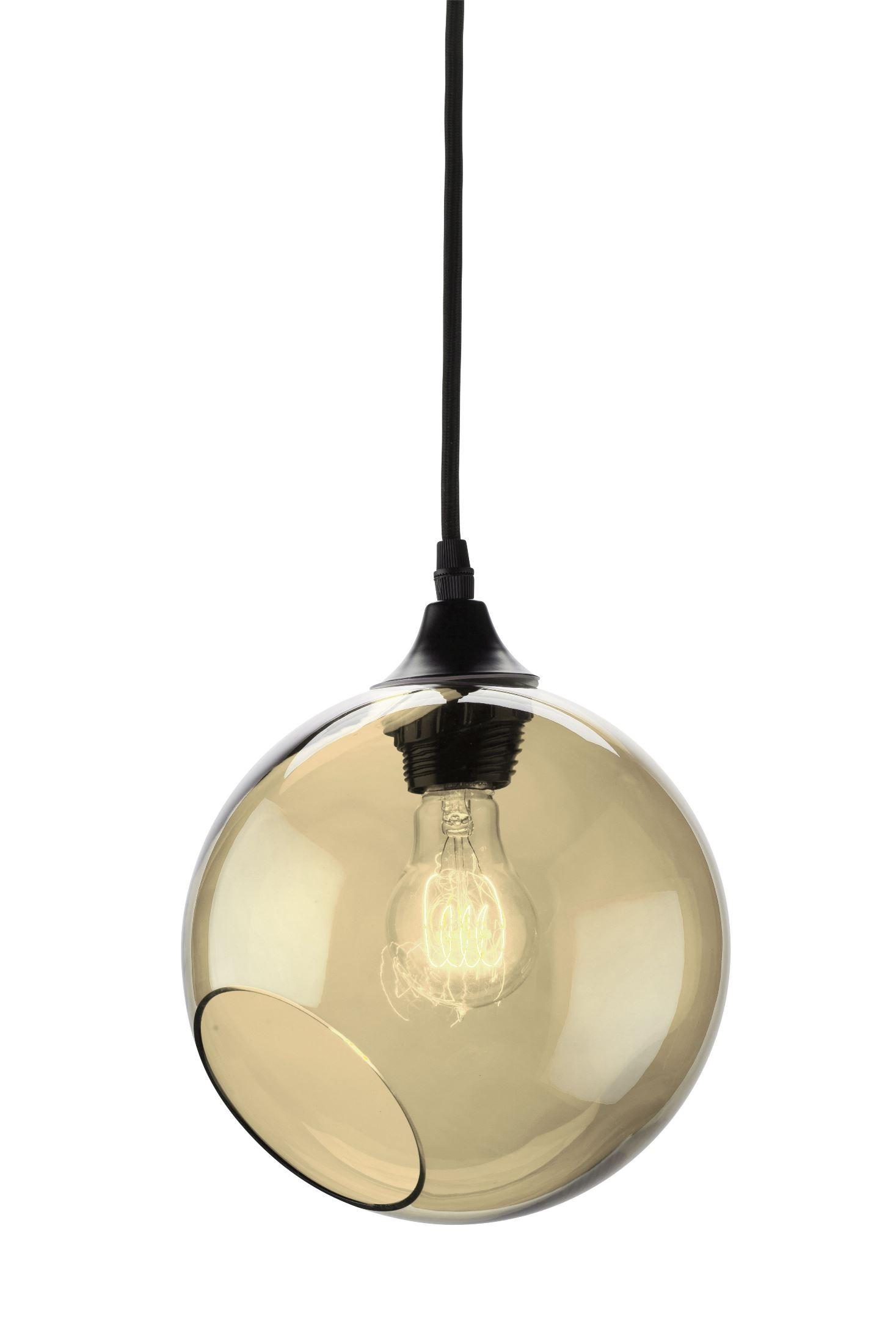 sphere chagne glass pendant hgra217 nuevo