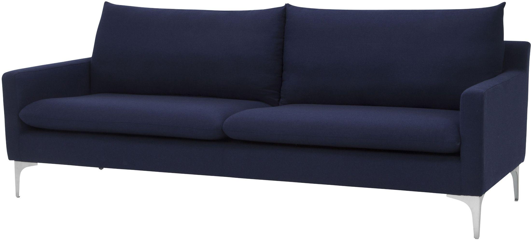 Anders Navy Blue Sofa Hgsc109 Nuevo