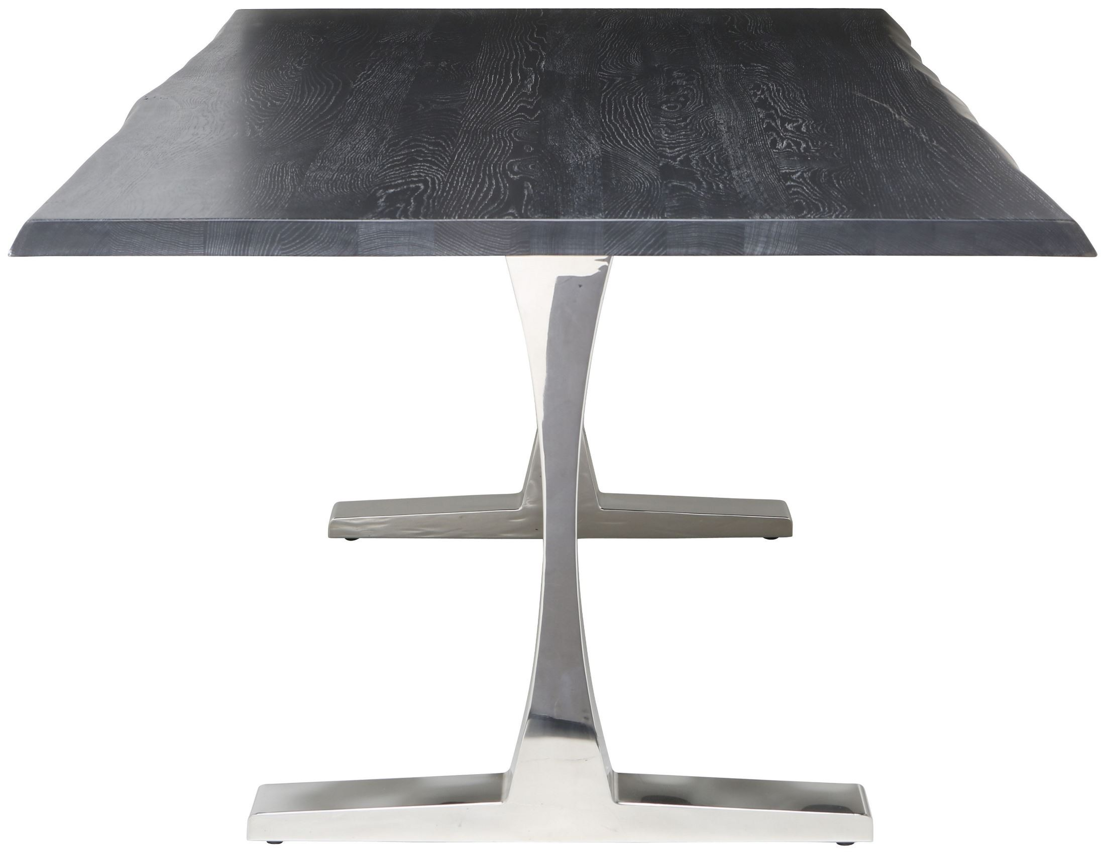 Toulouse Oxidized Grey Wood Dining Table Hgsr321 Nuevo