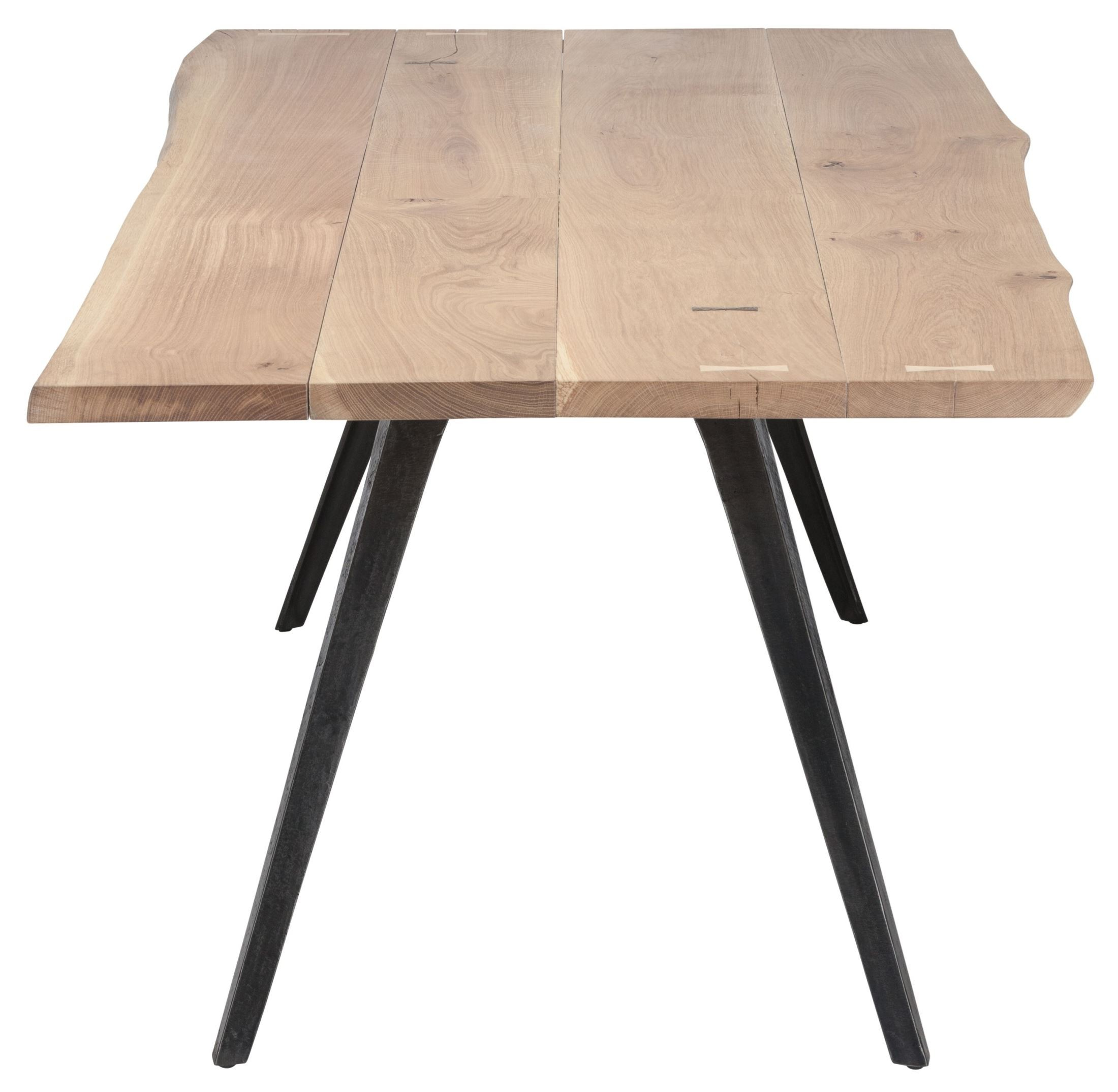 Vega raw wood dining table hgsr nuevo