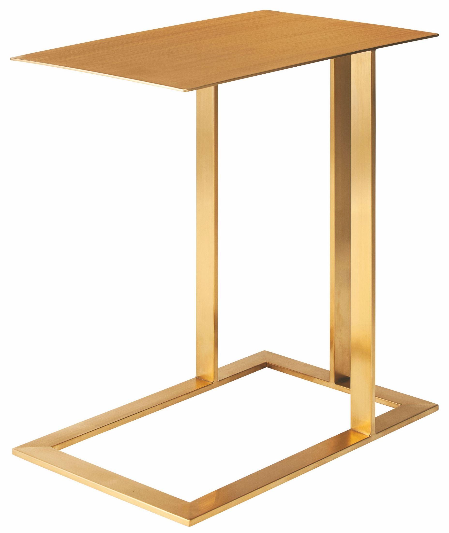 Gold Metal Side Table Celine Gold Metal Side Table