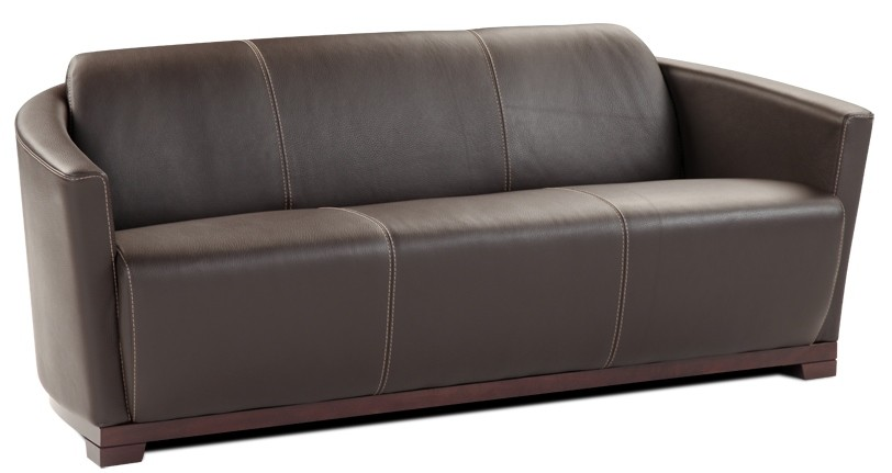 Hotel black italian leather living room set from j m for J m furniture soho living room collection