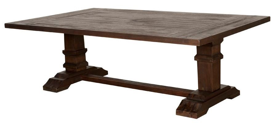 Hudson Rustic Java Coffee Table 6033 Rjav Orient Express