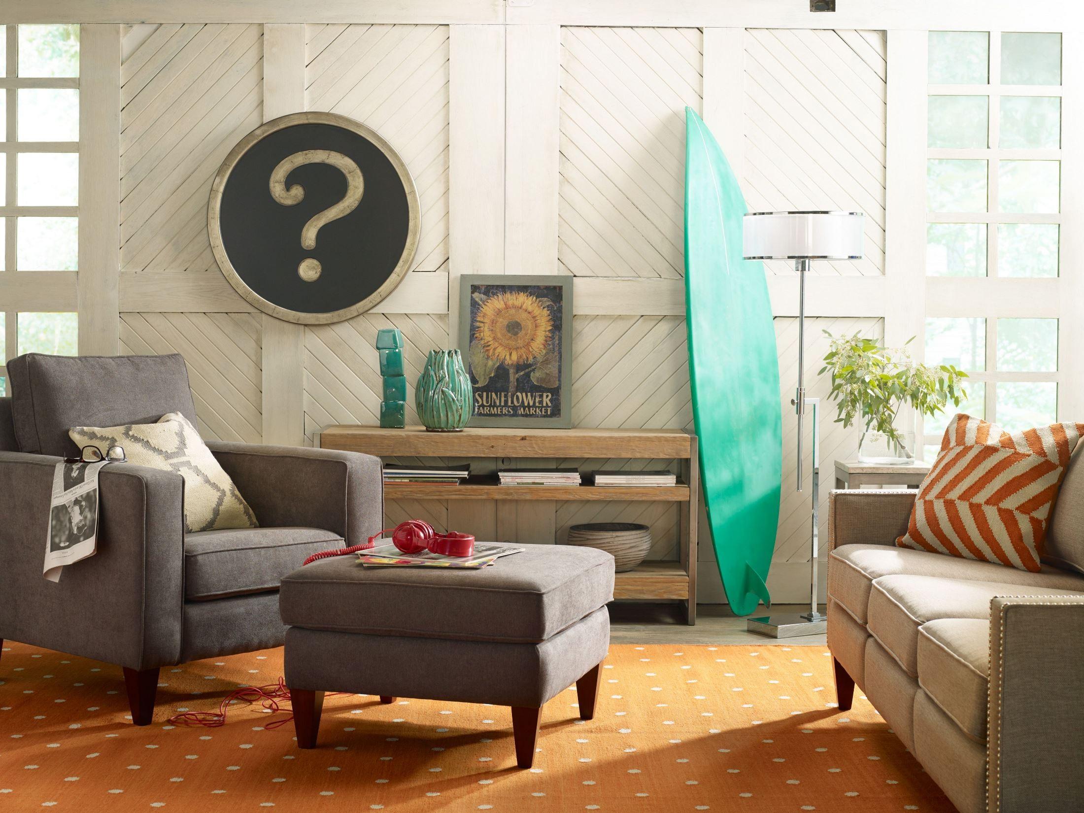 Parker Carbon Living Room Set HW1503 02 14GRISSO Hooker