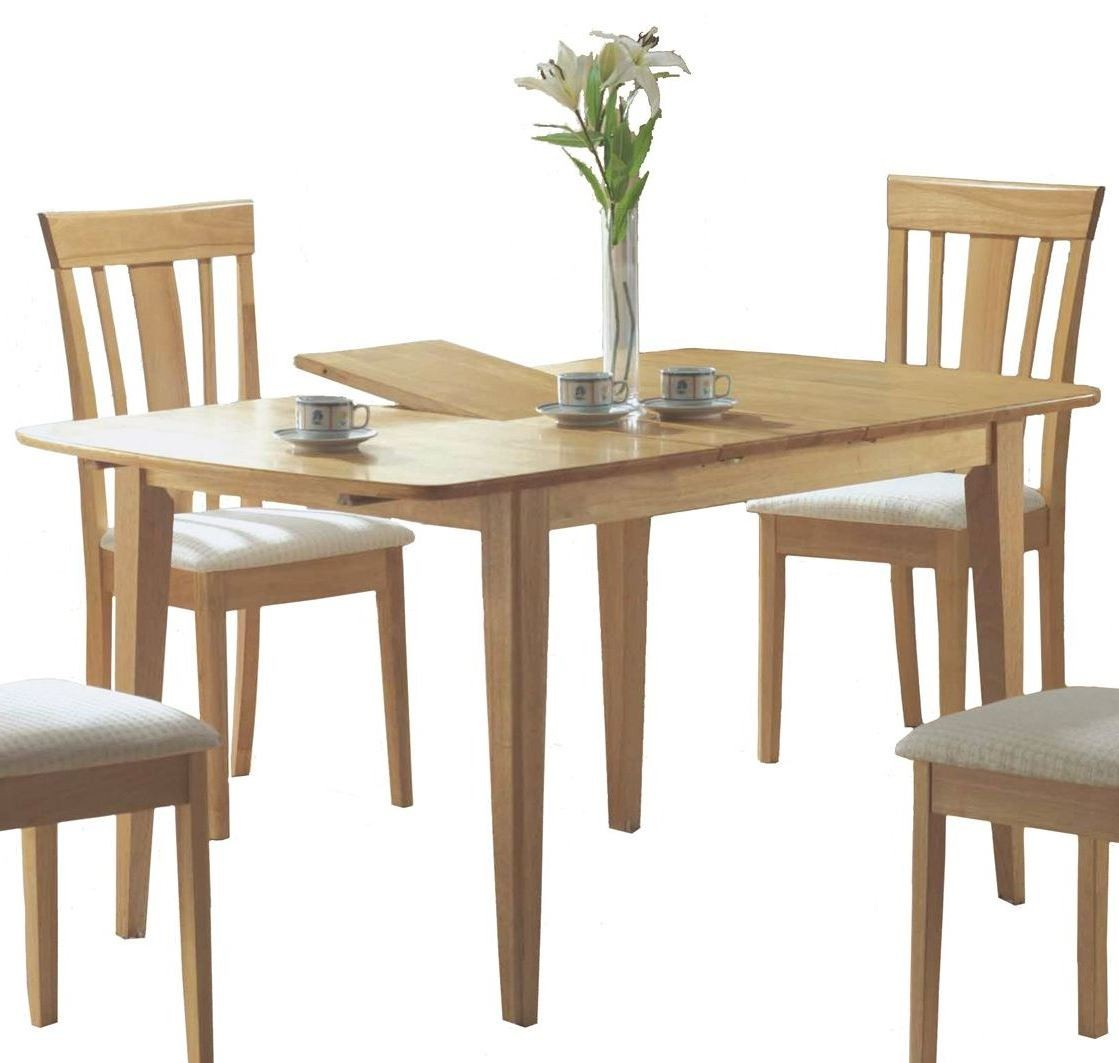 4267 maple butterfly leaf dining table from monarch i for Maple dining table