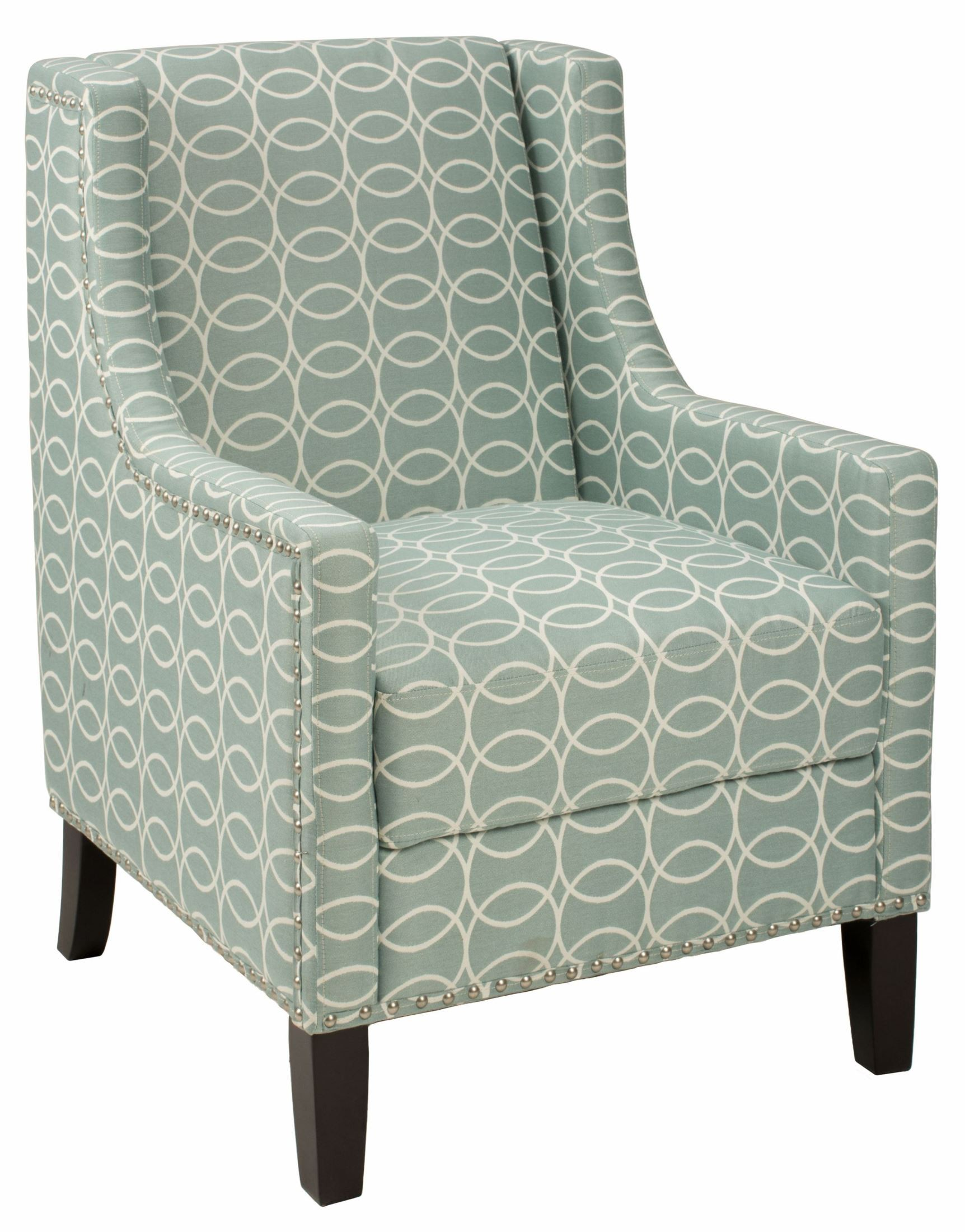 Josie light blue and grey accent chair josie ch spa jofran