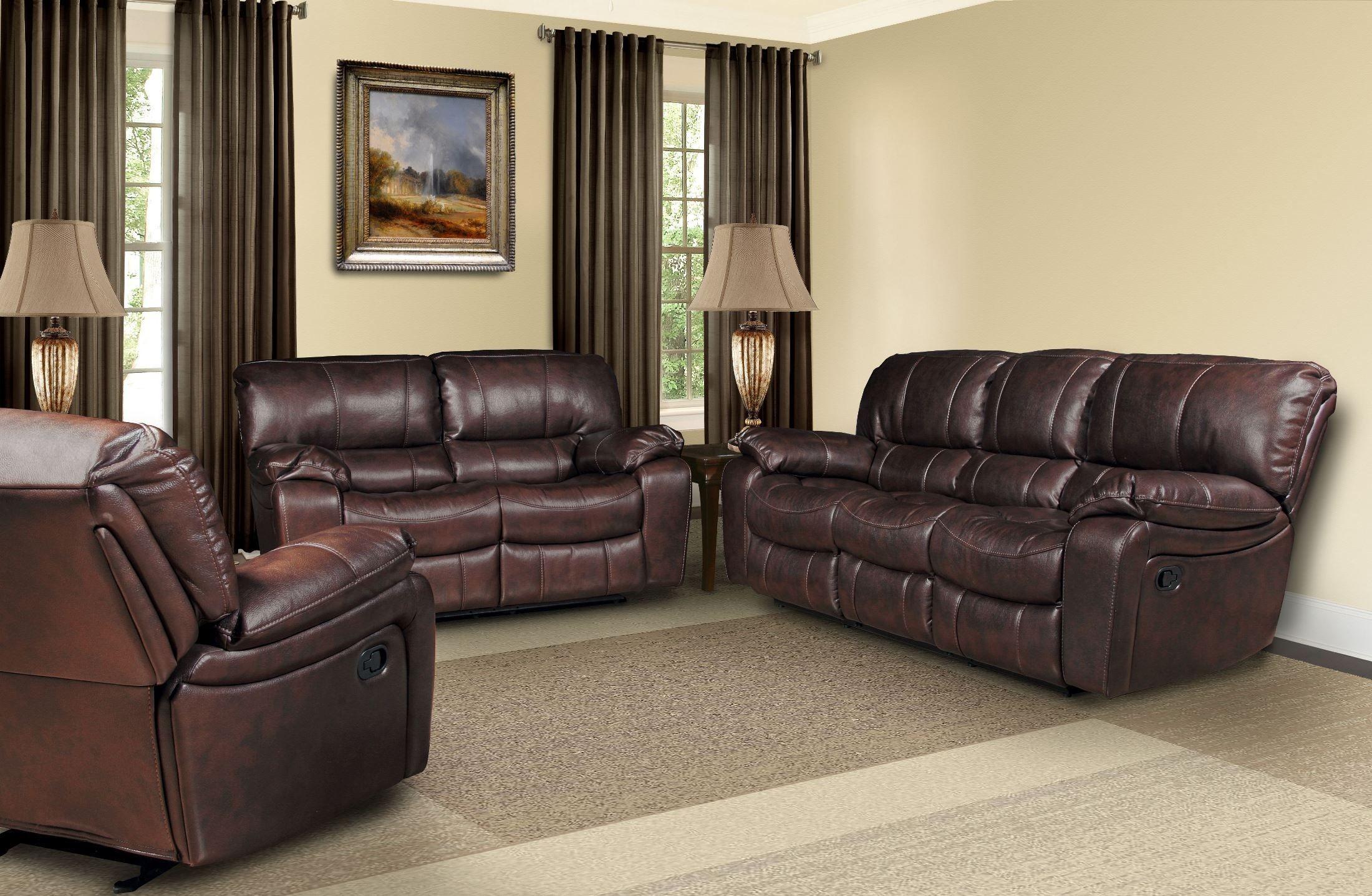 Jupiter Russet Dual Reclining Living Room Set from Parker