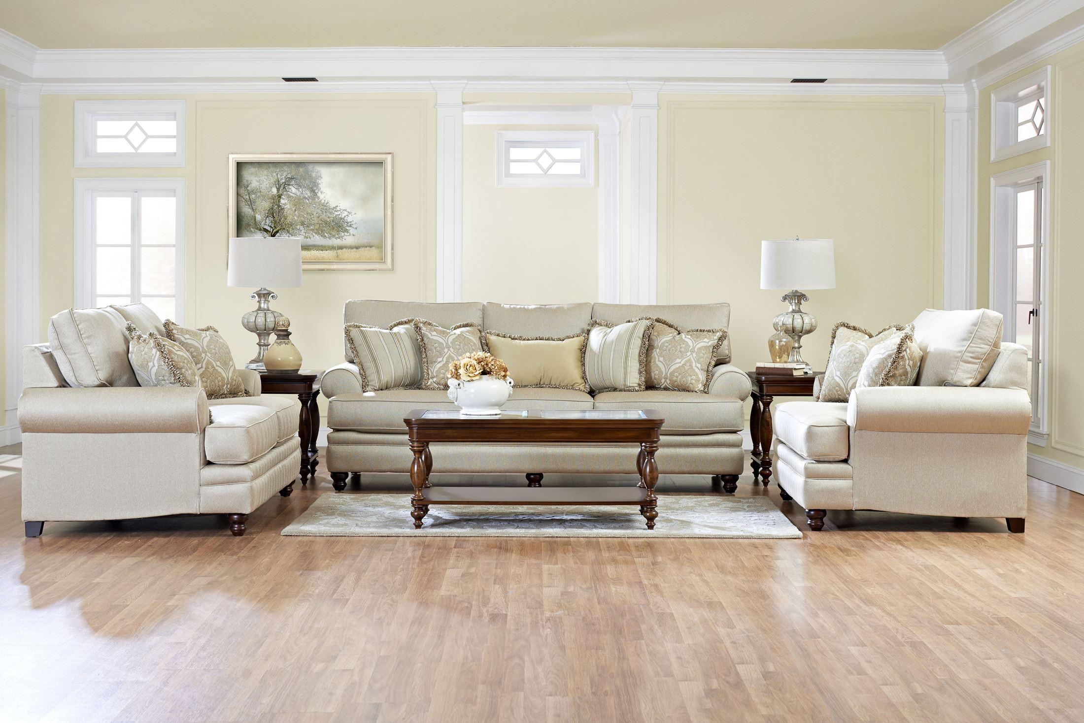 Darcy living room set k33230f room klaussner furniture