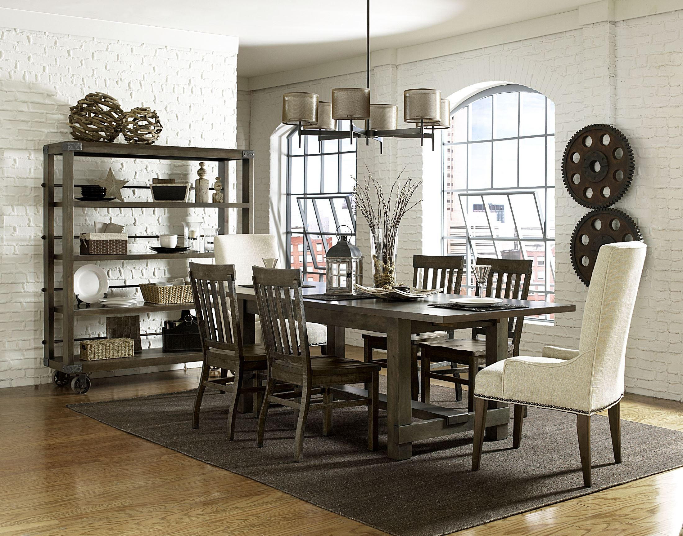 Karlin Rectangular Dining Room Set from Magnussen Home  : karlind2471 20606317cataloghi res4 from colemanfurniture.com size 2200 x 1729 jpeg 927kB