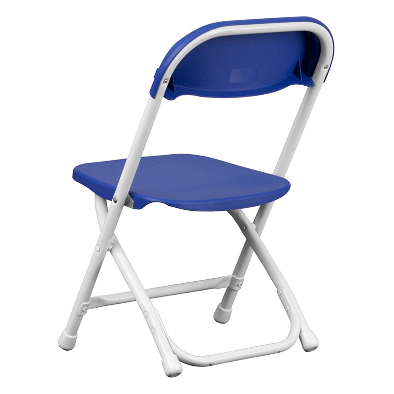 Kids Blue Plastic Folding Chair from Renegade Y KID BL GG