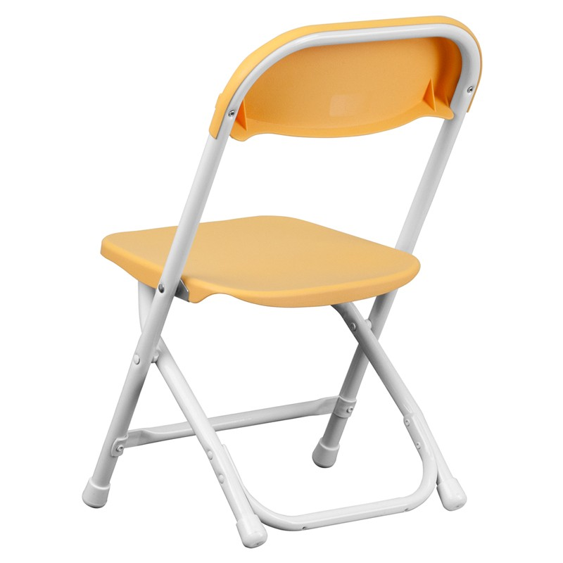 Kids Yellow Plastic Folding Chair from Renegade Y KID YL GG
