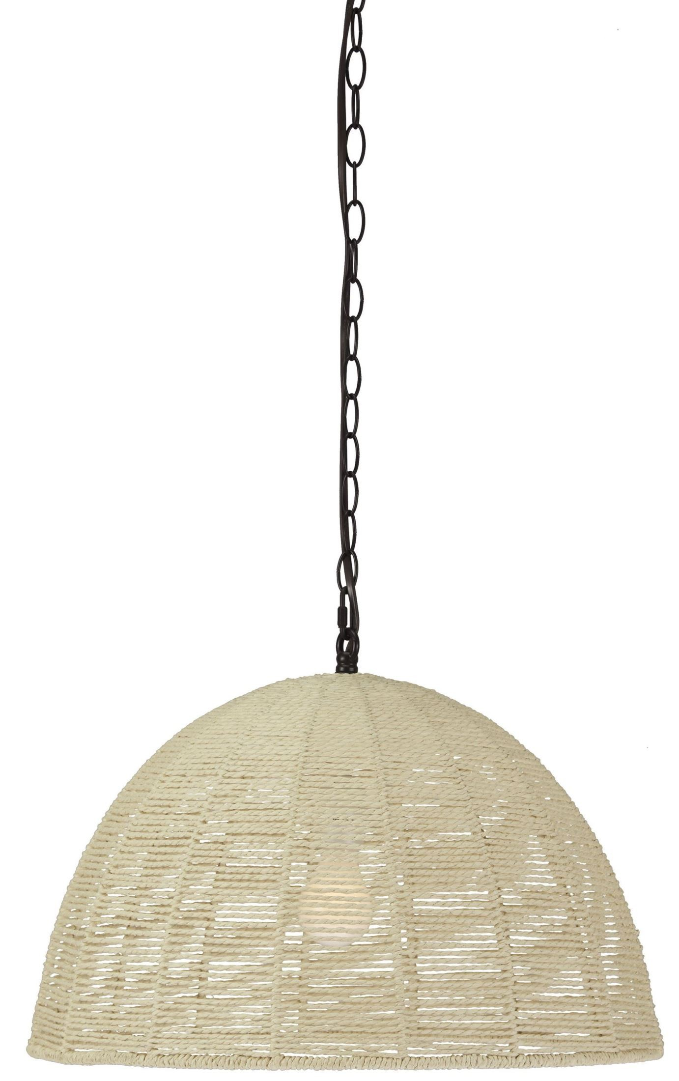 Jovan Natural Paper Rope Pendant Light From Ashley L000338 Coleman Furniture