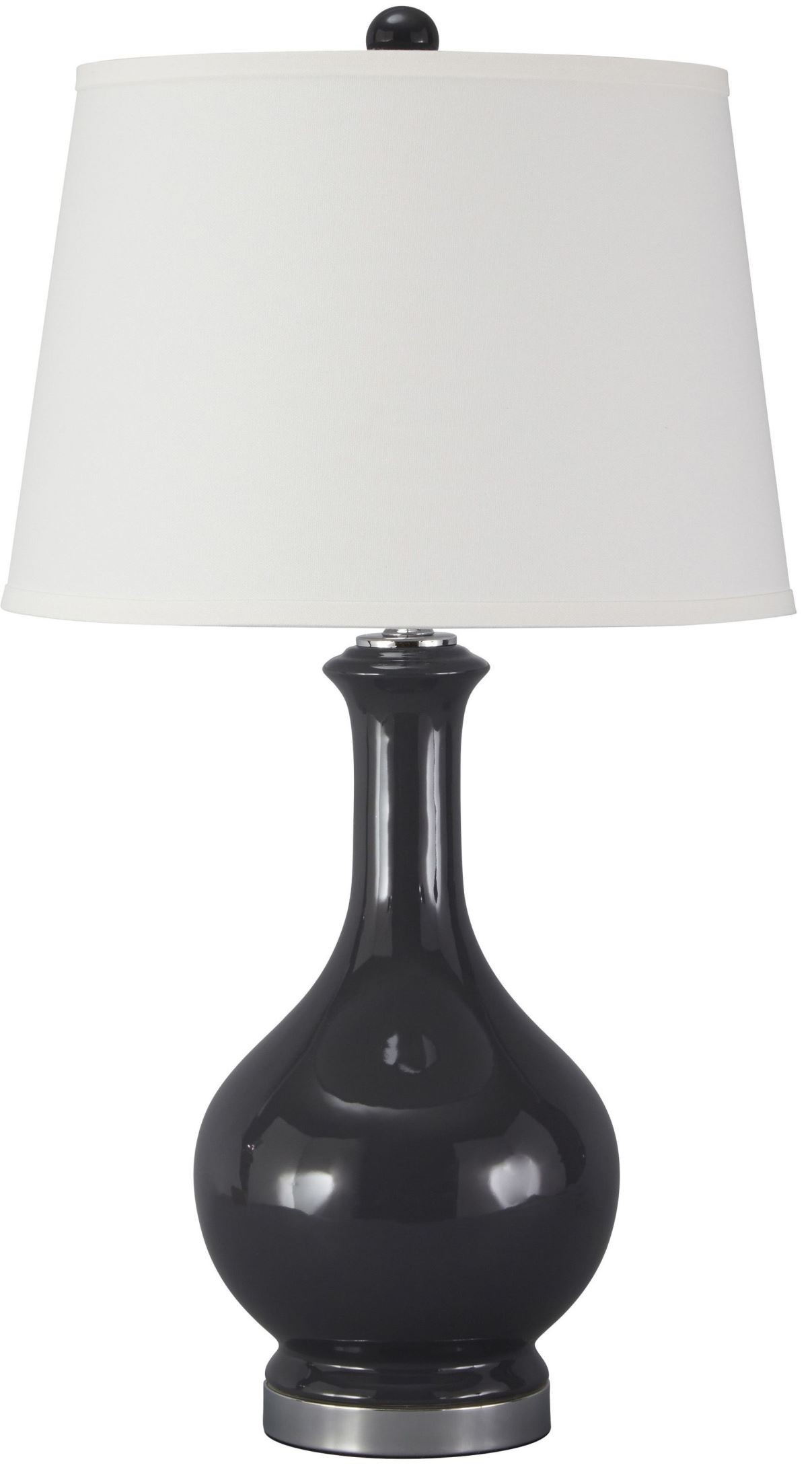 shavonnia blue ceramic table lamp from ashley l100434 coleman. Black Bedroom Furniture Sets. Home Design Ideas