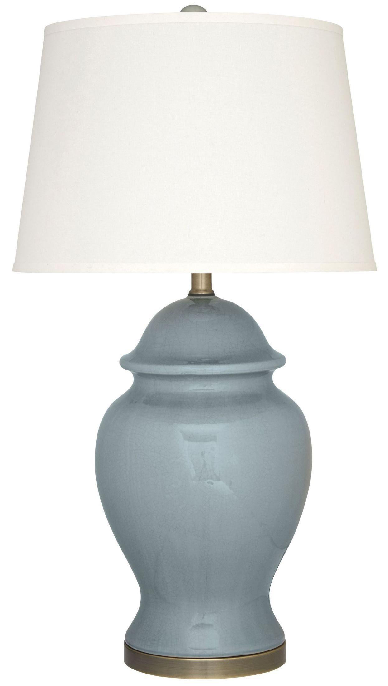 darena blue ceramic table lamp l100494 ashley. Black Bedroom Furniture Sets. Home Design Ideas
