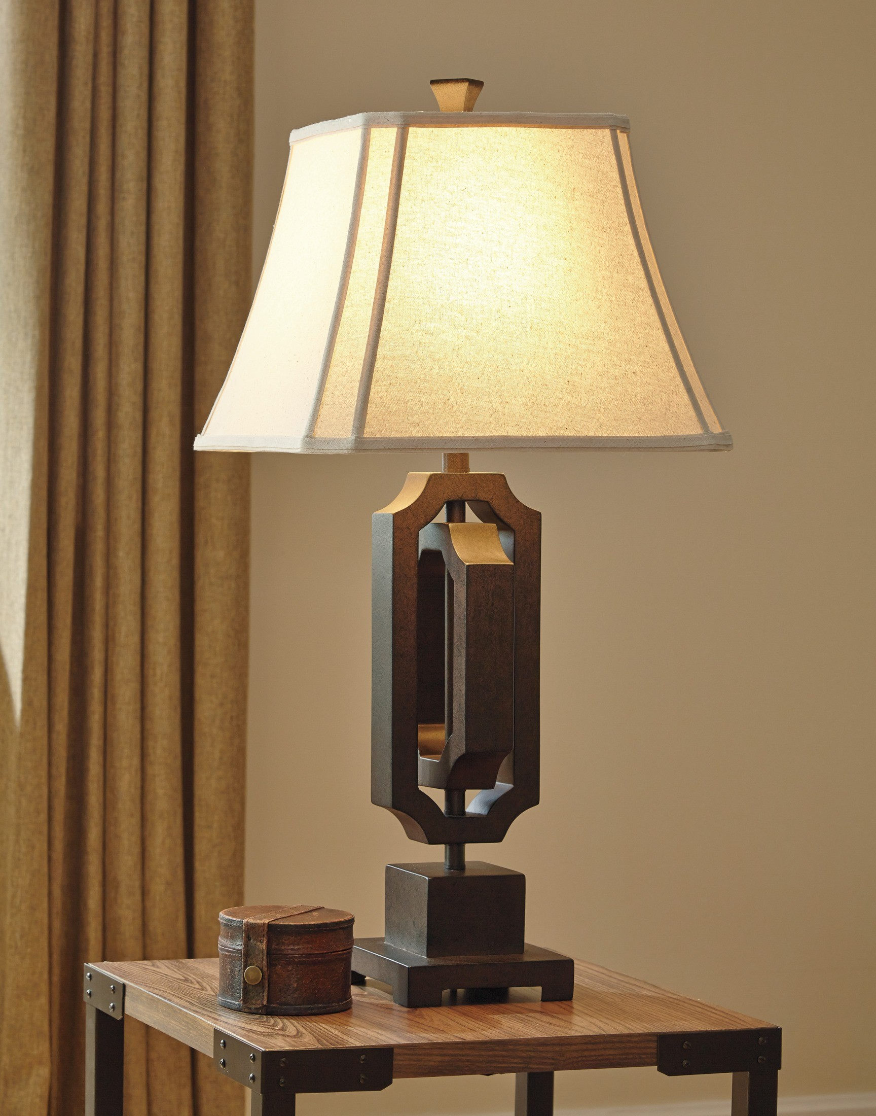 l235454 poly table lamp l235454 ashley. Black Bedroom Furniture Sets. Home Design Ideas