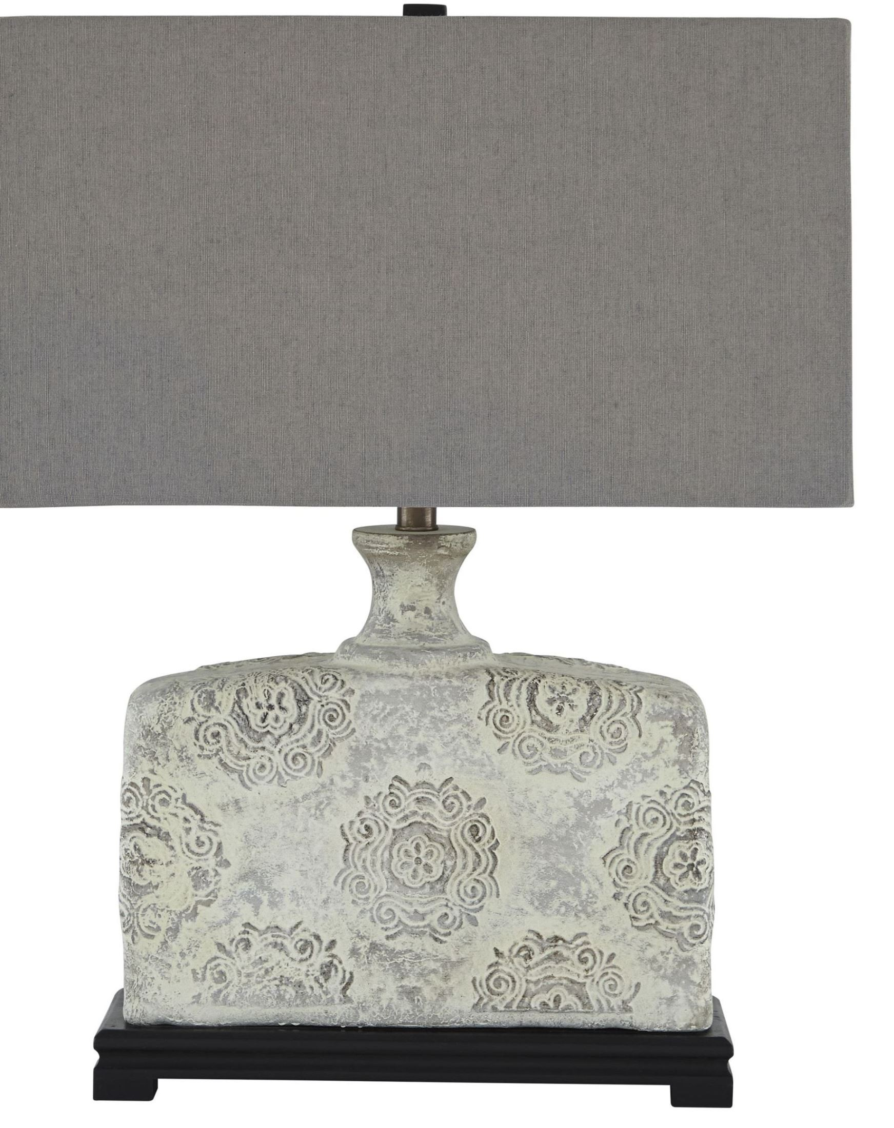 antique white table lamp from ashley l235464 coleman. Black Bedroom Furniture Sets. Home Design Ideas