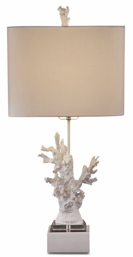 white coral table lamp l2667tec bassett mirror. Black Bedroom Furniture Sets. Home Design Ideas