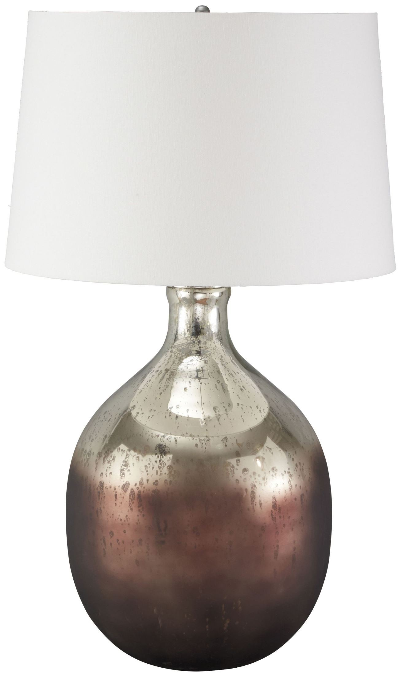 Tabish Mercury Glass And Brown Glass Table Lamp From Ashley L430294 Coleman Furniture