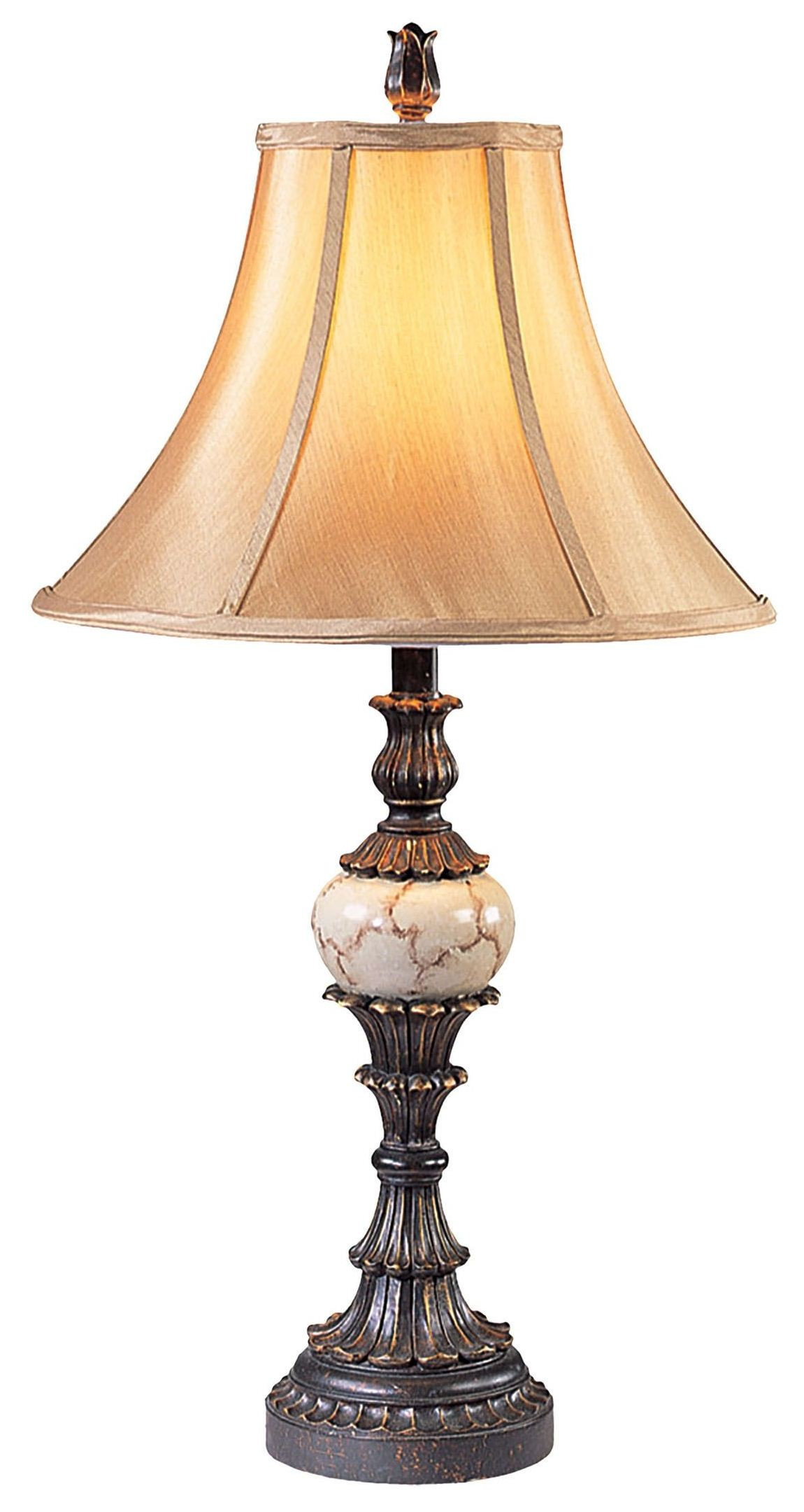 Antique Table Lamps Catalogs : Rosalie antique black table lamp set of from furniture