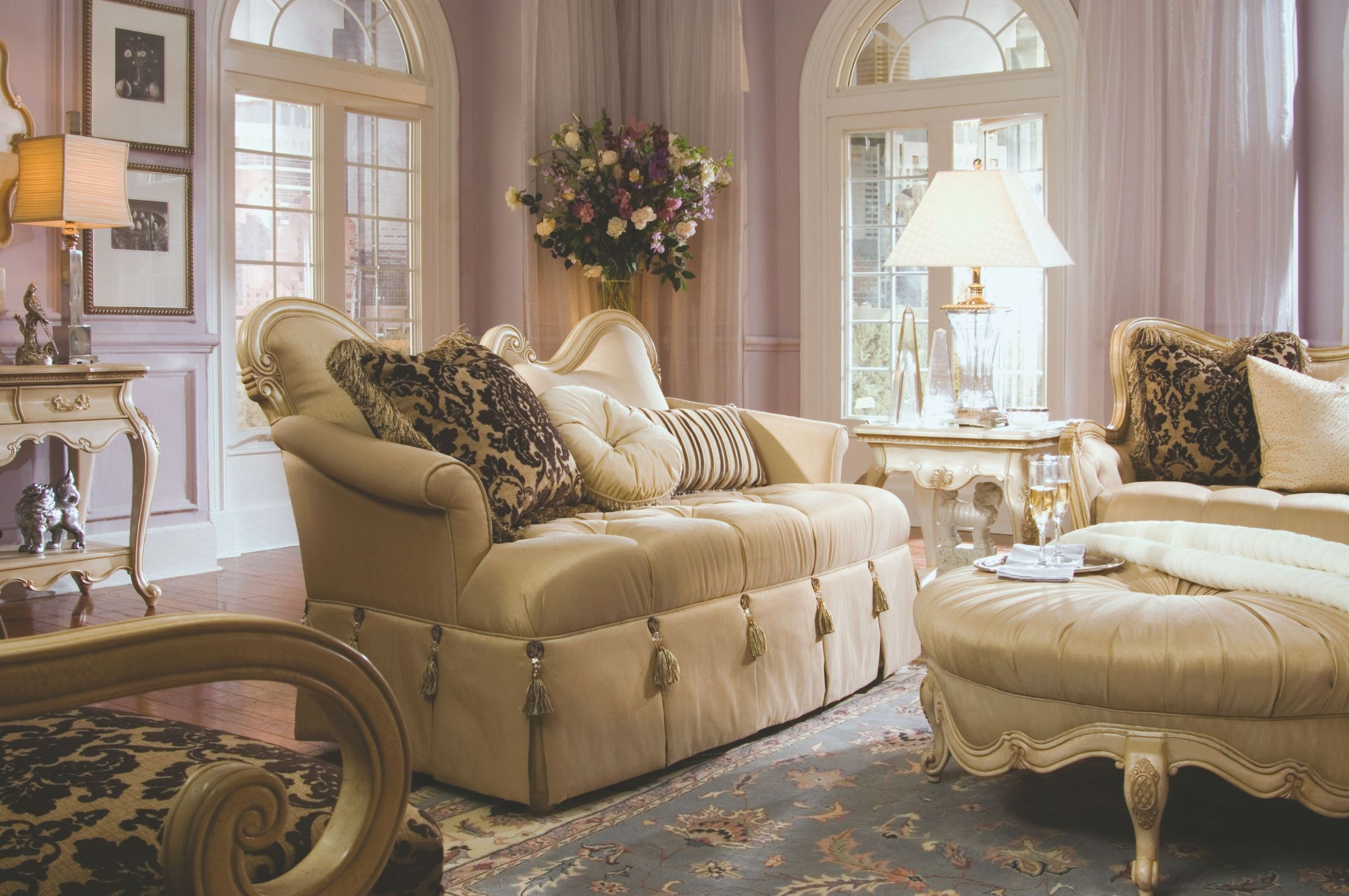 lavelle blanc living room set from aico 54815 coleman
