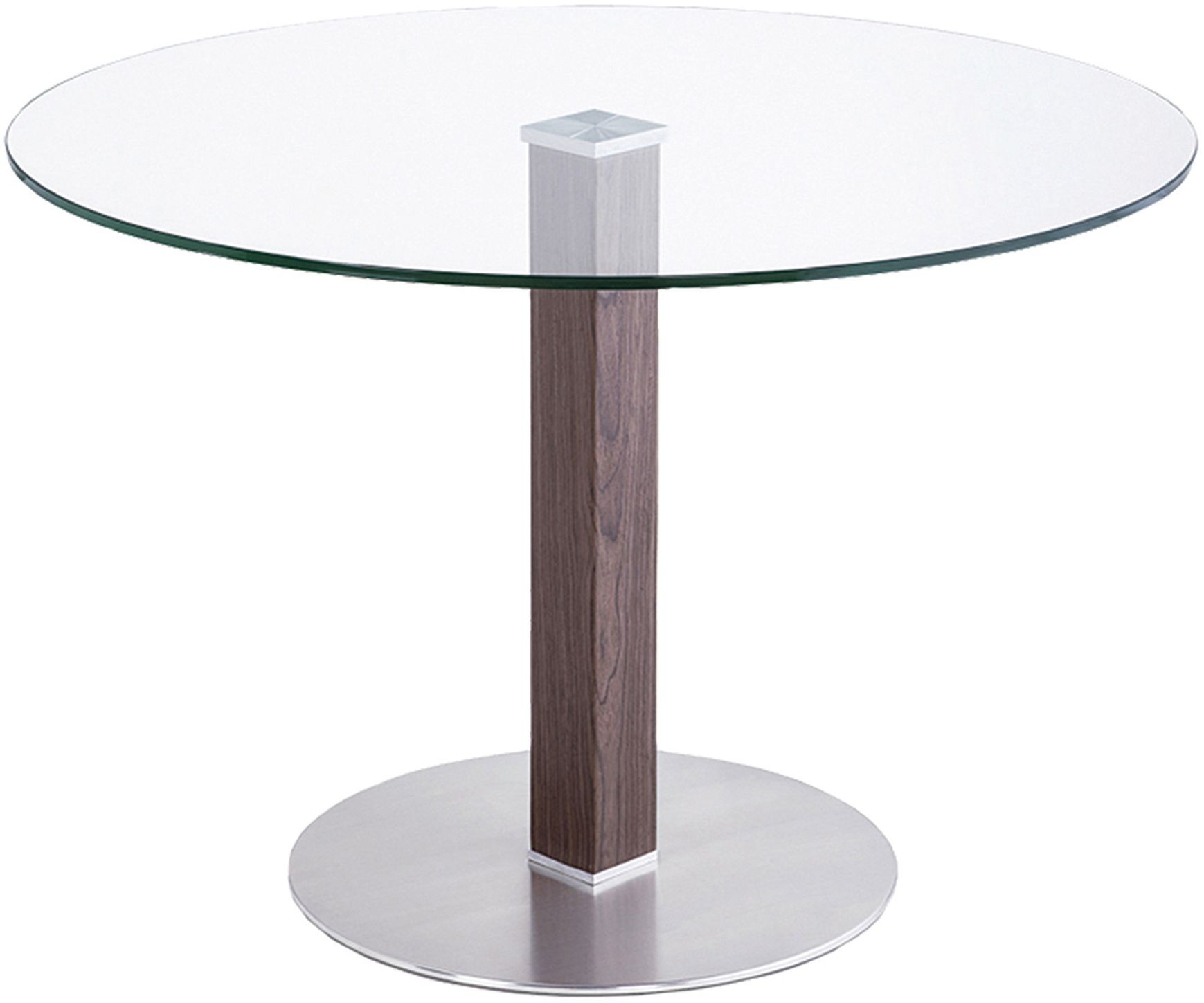 Cafe brushed stainless steel dining table lccadib201to for Stainless steel dining table