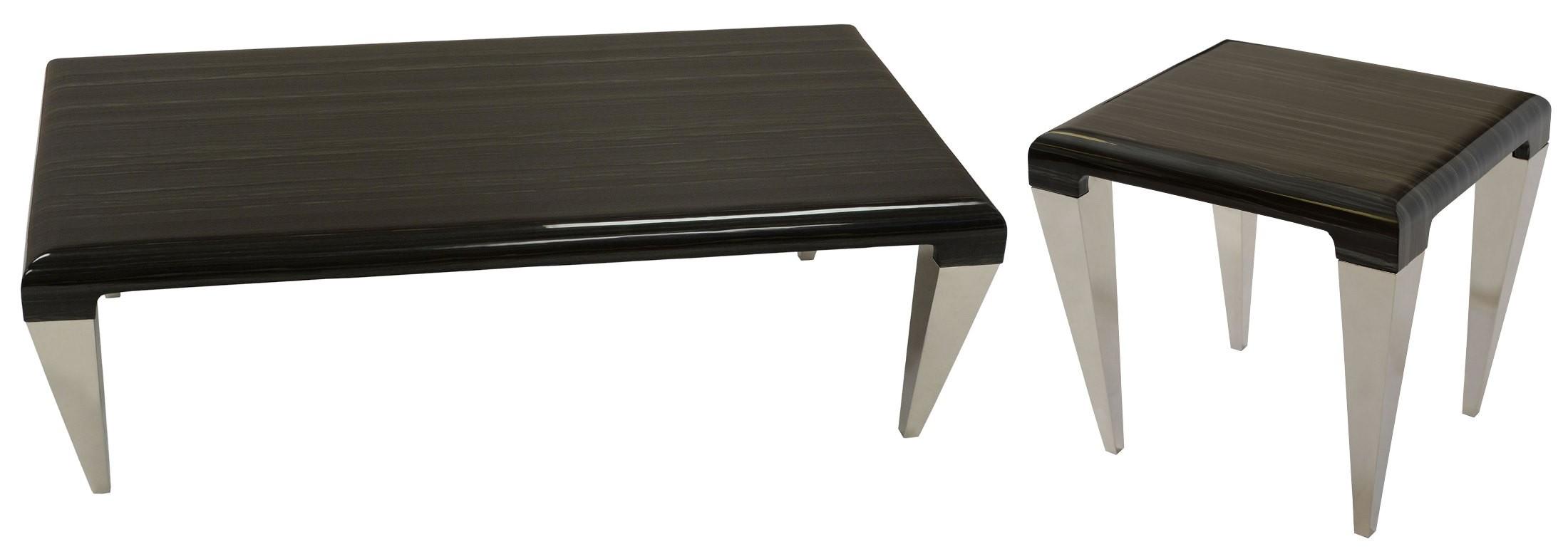 Chow Black Marble Coffee Table Lcchcoto Armen Living